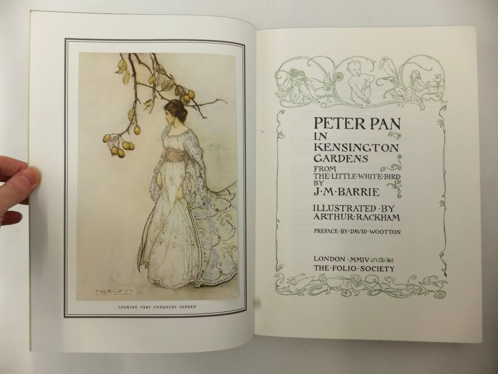 Photo of PETER PAN IN KENSINGTON GARDENS written by Barrie, J.M. illustrated by Rackham, Arthur published by Folio Society (STOCK CODE: 2124053)  for sale by Stella & Rose's Books