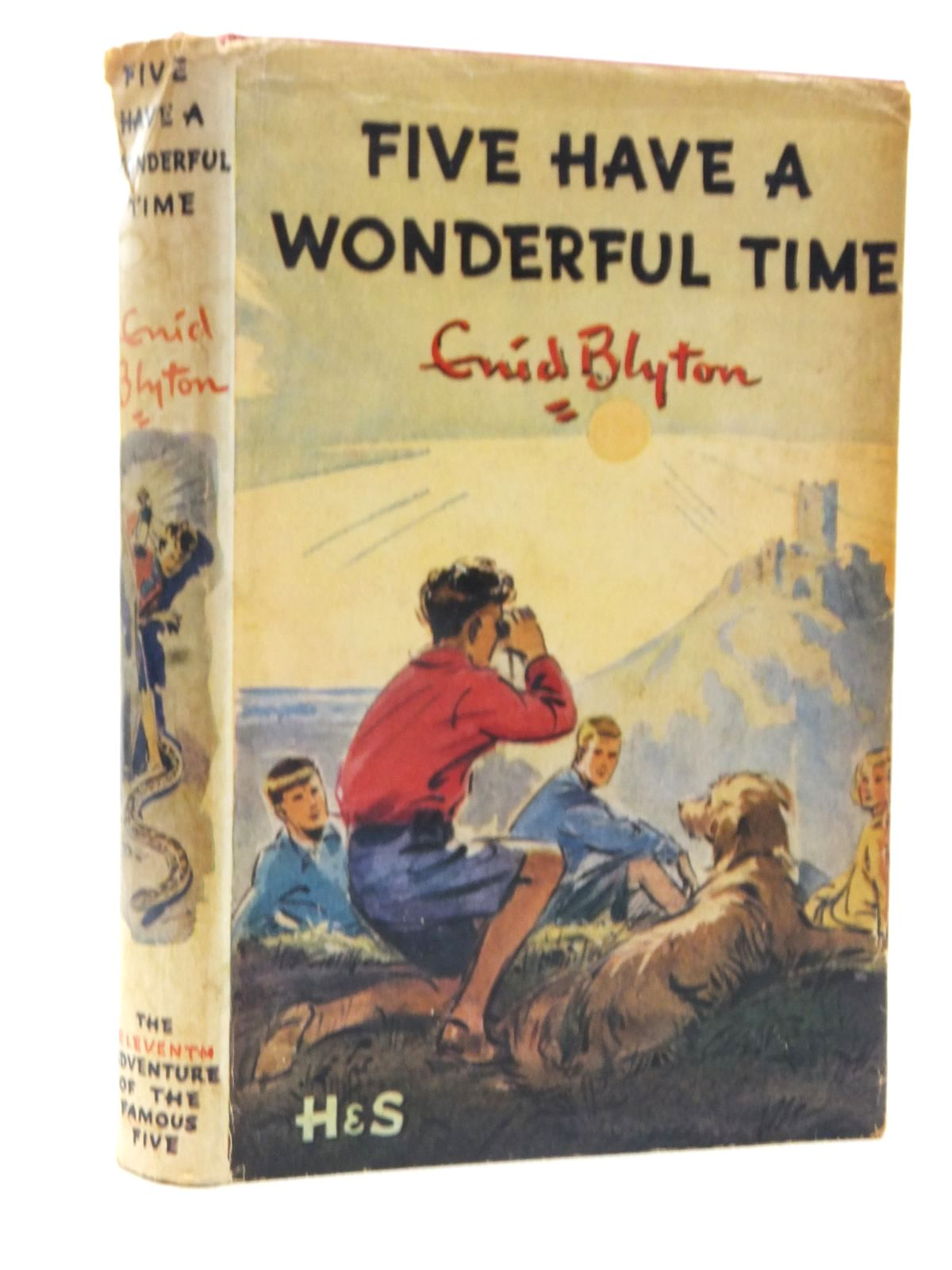 Photo of FIVE HAVE A WONDERFUL TIME written by Blyton, Enid illustrated by Maxey, Betty published by Brockhampton Press Ltd. (STOCK CODE: 2124100)  for sale by Stella & Rose's Books