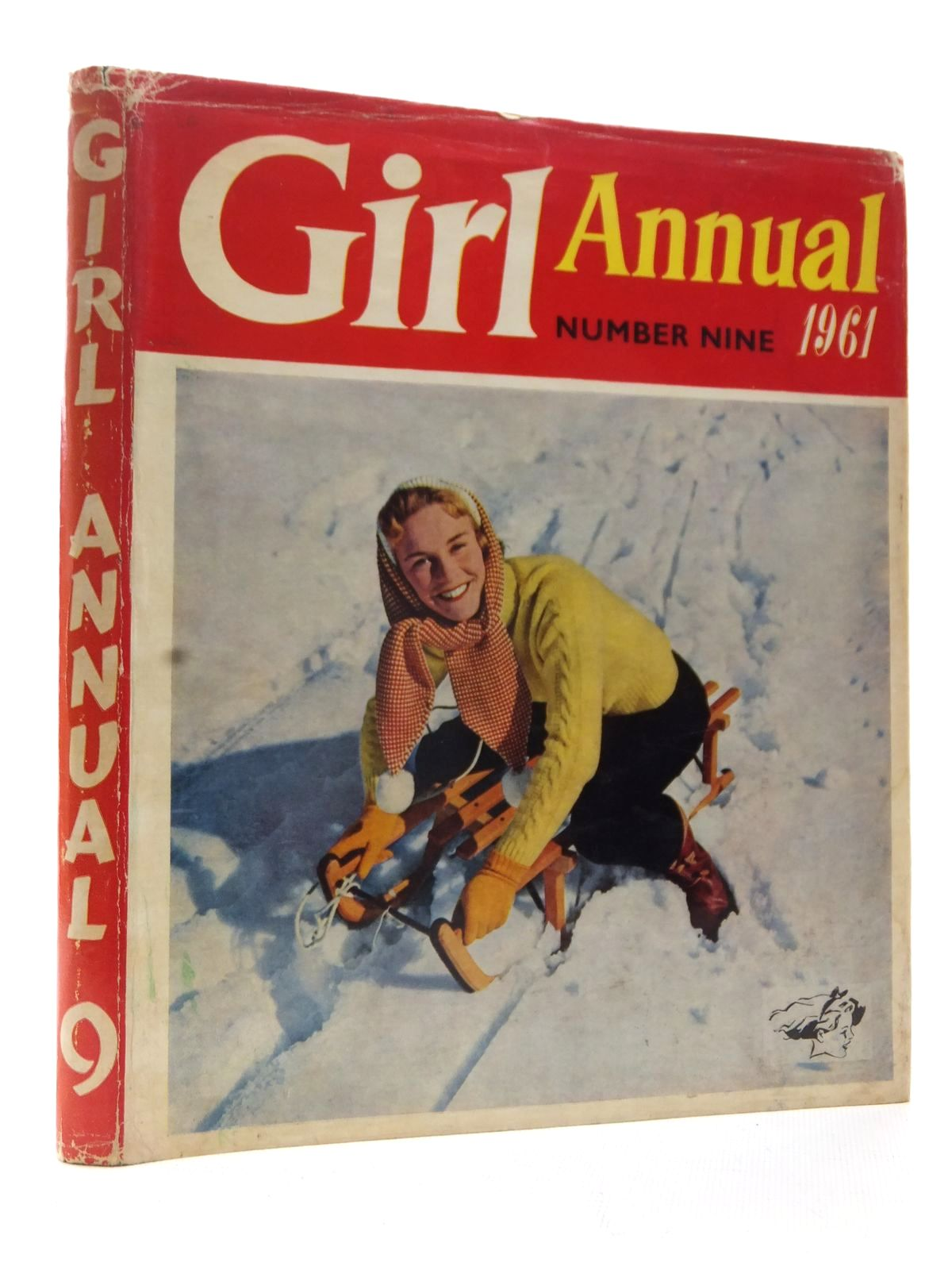 Photo of GIRL ANNUAL No. 9 written by Makins, Clifford published by Longacre Press (STOCK CODE: 2124105)  for sale by Stella & Rose's Books