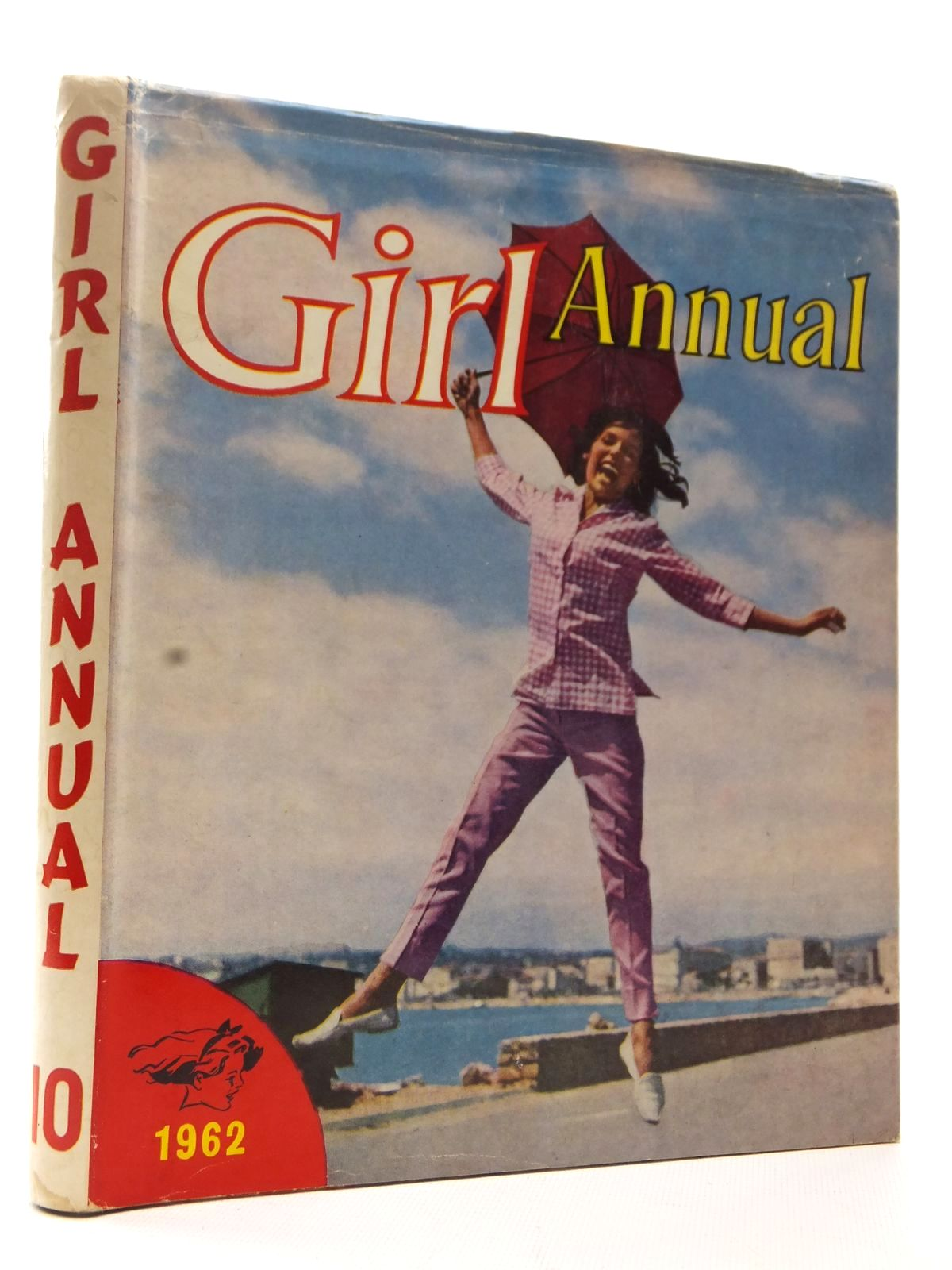Photo of GIRL ANNUAL NO. 10 written by Makins, Clifford published by Longacre Press Ltd. (STOCK CODE: 2124106)  for sale by Stella & Rose's Books