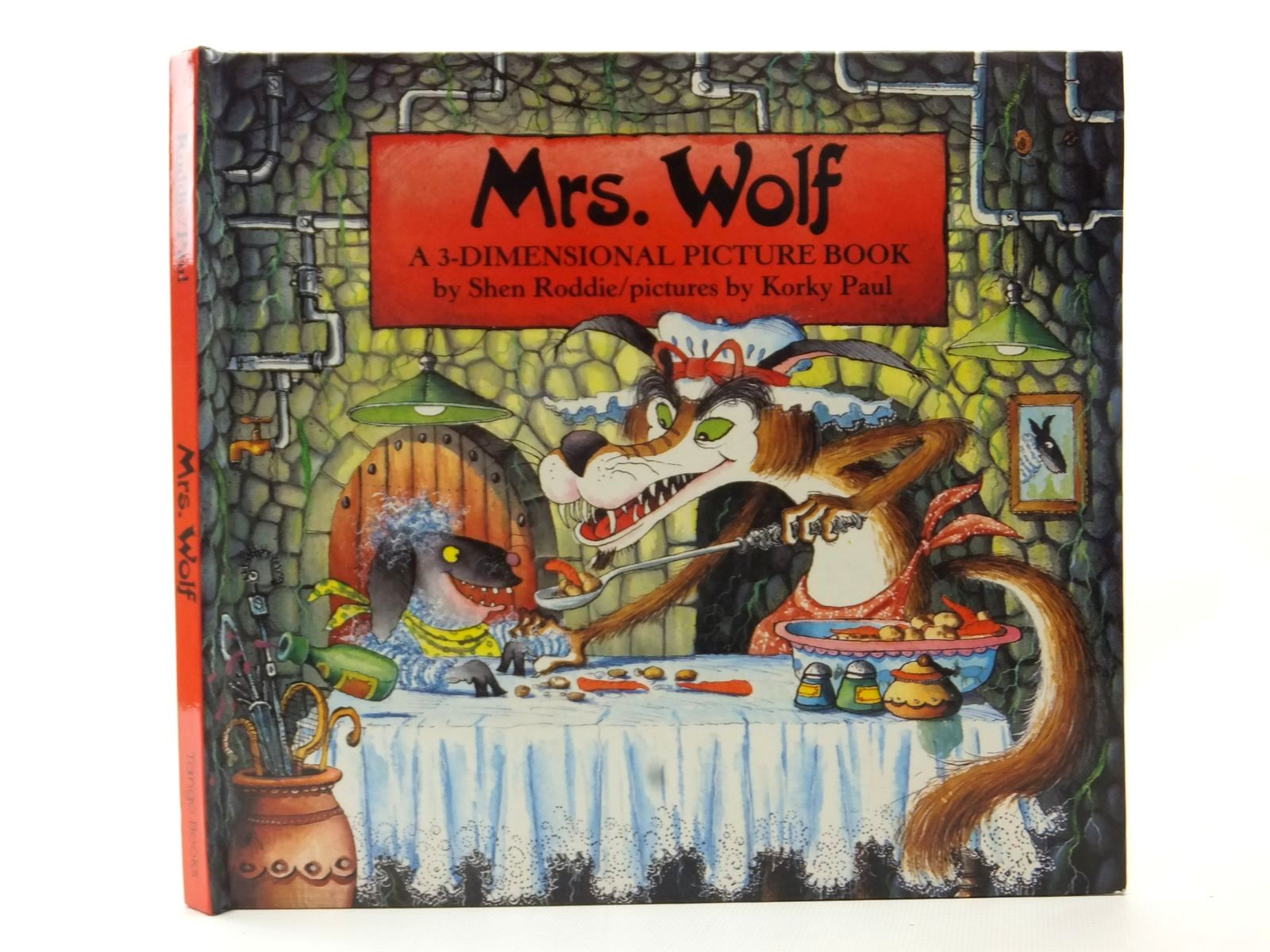 Photo of MRS. WOLF A 3-DIMENSIONAL PICTURE BOOK- Stock Number: 2124114