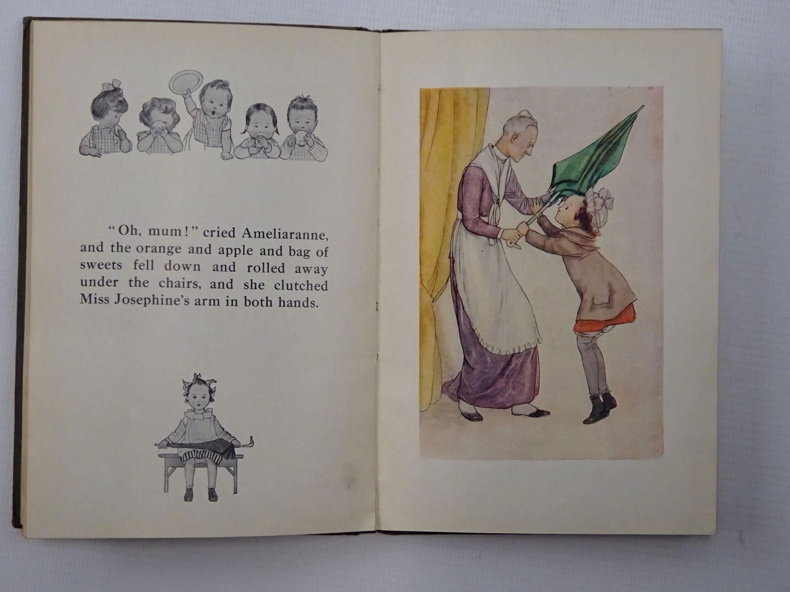 Photo of AMELIARANNE AND THE GREEN UMBRELLA written by Heward, Constance illustrated by Pearse, S.B. published by George G. Harrap & Co. Ltd. (STOCK CODE: 2124272)  for sale by Stella & Rose's Books