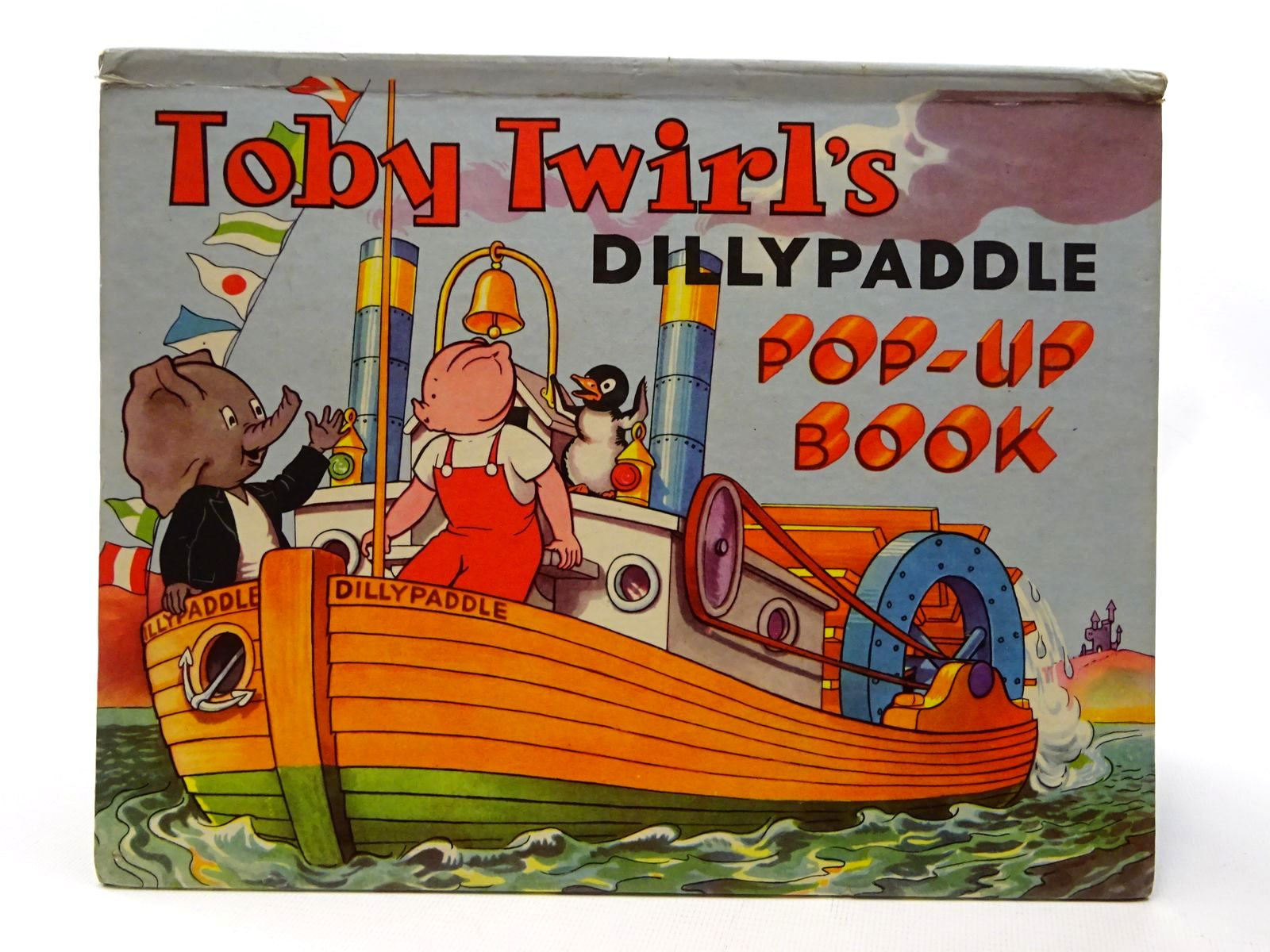 Photo of TOBY TWIRL'S DILLYPADDLE POP-UP BOOK- Stock Number: 2124277
