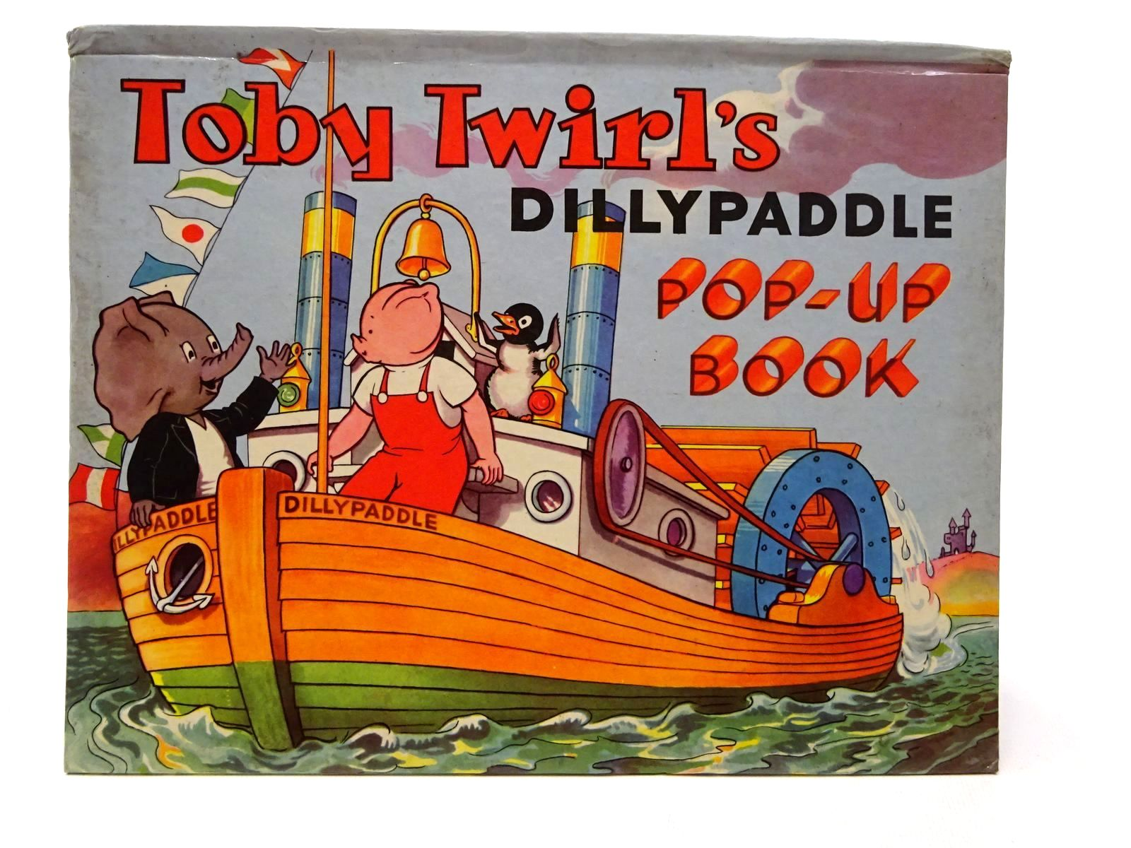 Photo of TOBY TWIRL'S DILLYPADDLE POP-UP BOOK- Stock Number: 2124279