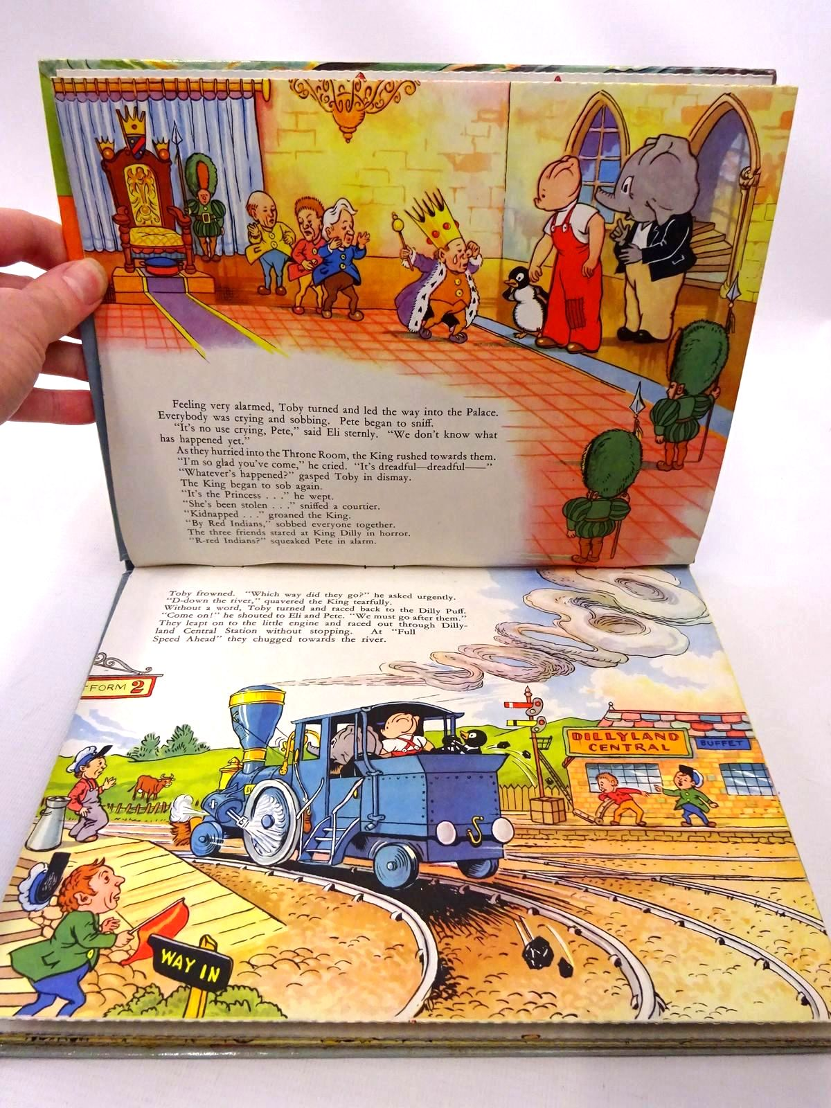 Photo of TOBY TWIRL'S DILLYPADDLE POP-UP BOOK published by Sampson Low (STOCK CODE: 2124279)  for sale by Stella & Rose's Books