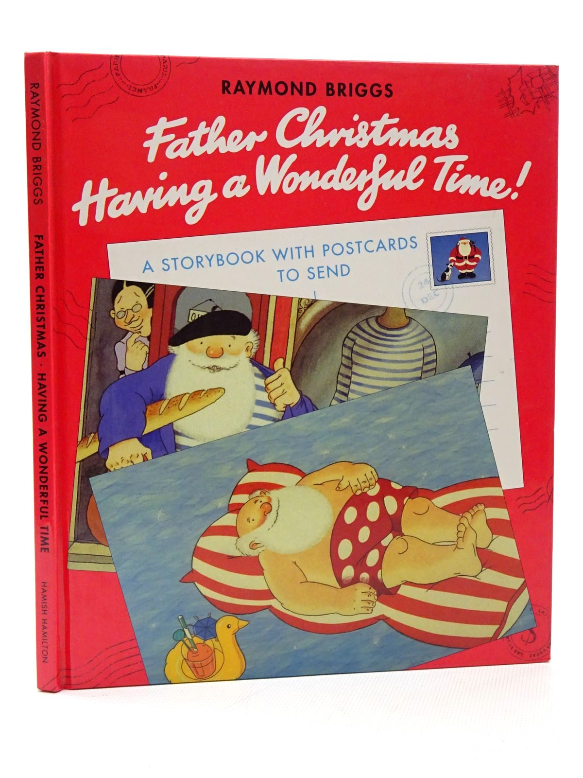 Photo of FATHER CHRISTMAS HAVING A WONDERFUL TIME! written by Briggs, Raymond illustrated by Briggs, Raymond published by Hamish Hamilton (STOCK CODE: 2124301)  for sale by Stella & Rose's Books