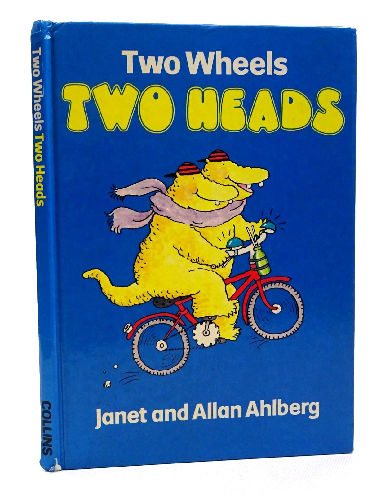 Photo of TWO WHEELS TWO HEADS written by Ahlberg, Allan illustrated by Ahlberg, Janet published by Collins (STOCK CODE: 2124367)  for sale by Stella & Rose's Books