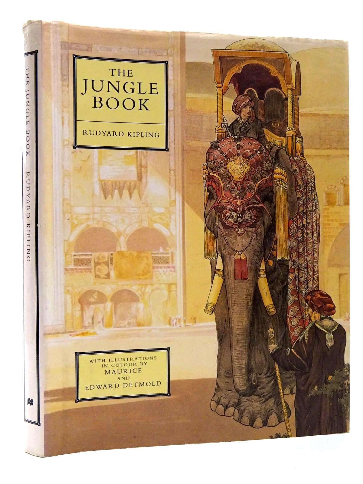 Photo of THE JUNGLE BOOK written by Kipling, Rudyard illustrated by Detmold, Maurice Detmold, Edward J. published by Macmillan Children's Books (STOCK CODE: 2124384)  for sale by Stella & Rose's Books