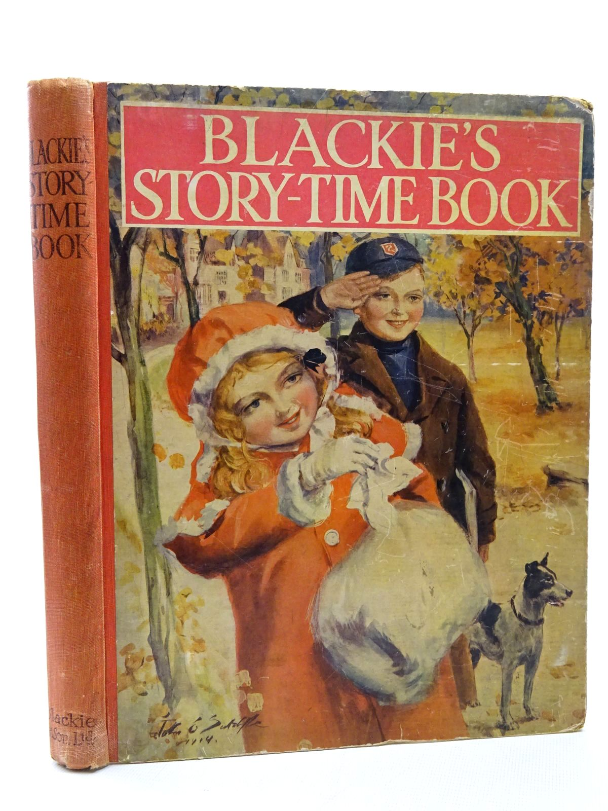 Photo of BLACKIE'S STORY-TIME BOOK written by Tent, Chris Davidson, Gladys Wilson, Theodora Wilson Byron, May Harrison, Florence et al, illustrated by Richardson, Agnes Maybank, Thomas Earnshaw, Harold C. Wain, Louis Harrison, Florence Buchanan, N. Cowham, Hilda Brock, H.M. et al., published by Blackie & Son Ltd. (STOCK CODE: 2124405)  for sale by Stella & Rose's Books