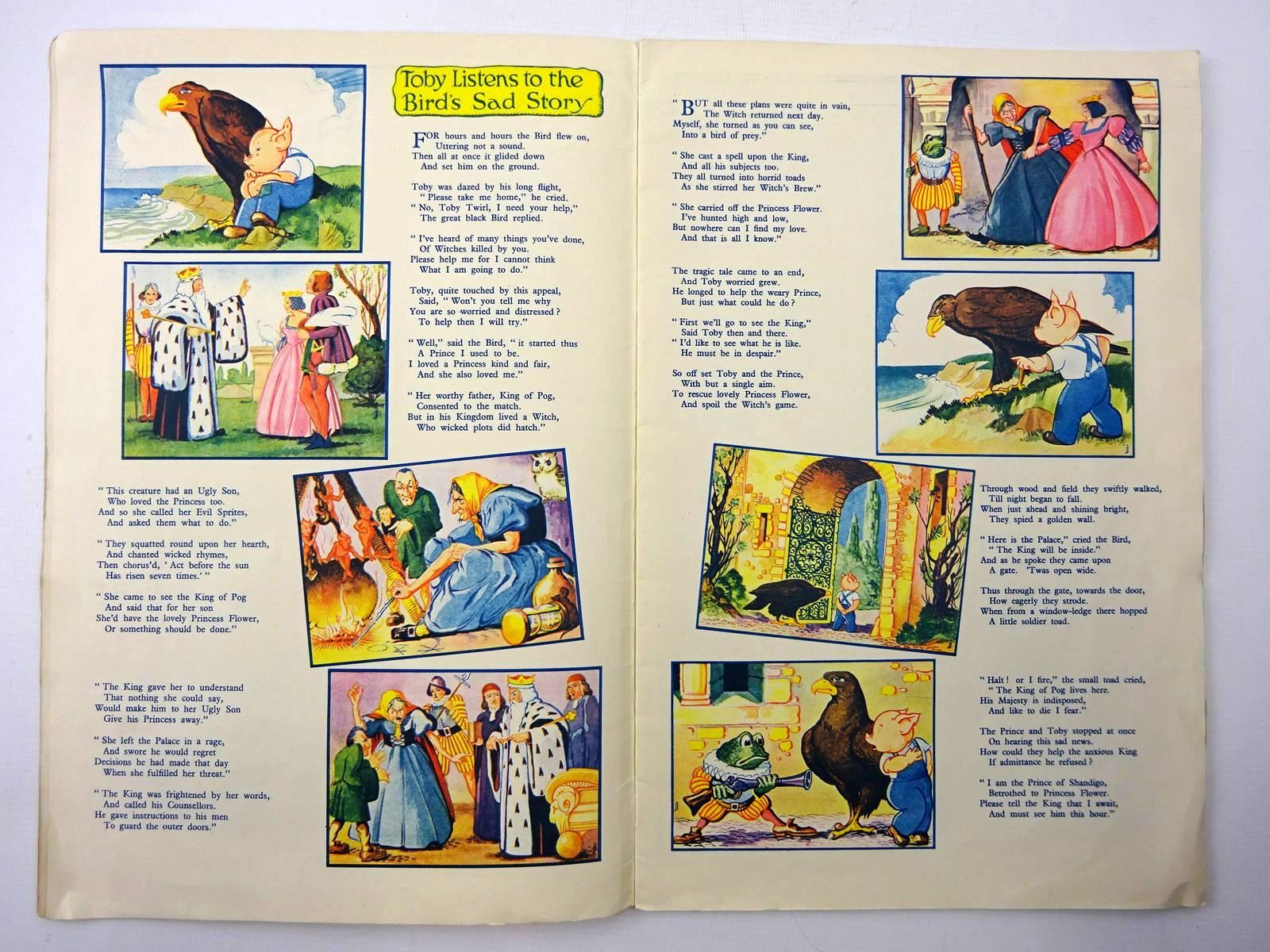 Photo of TOBY TWIRL IN POGLAND written by Hodgetts, Sheila illustrated by Jeffrey, E. published by Sampson Low, Marston & Co. Ltd. (STOCK CODE: 2124515)  for sale by Stella & Rose's Books