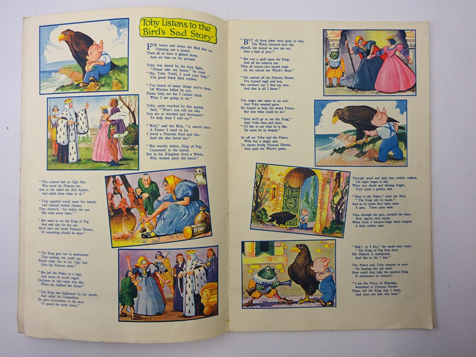 Photo of TOBY TWIRL IN POGLAND written by Hodgetts, Sheila illustrated by Jeffrey, E. published by Sampson Low, Marston & Co. Ltd. (STOCK CODE: 2124518)  for sale by Stella & Rose's Books