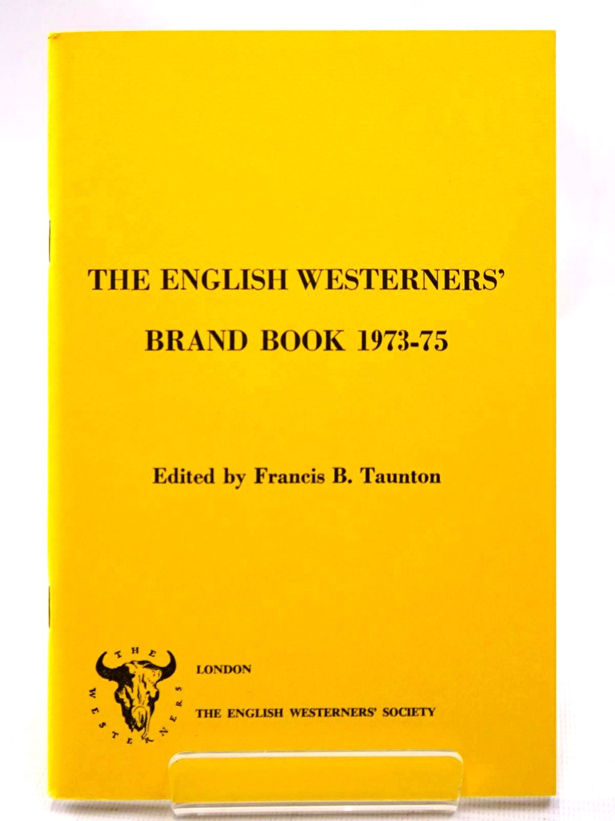 Photo of THE ENGLISH WESTERNERS' BRAND BOOK 1973-75- Stock Number: 2124528