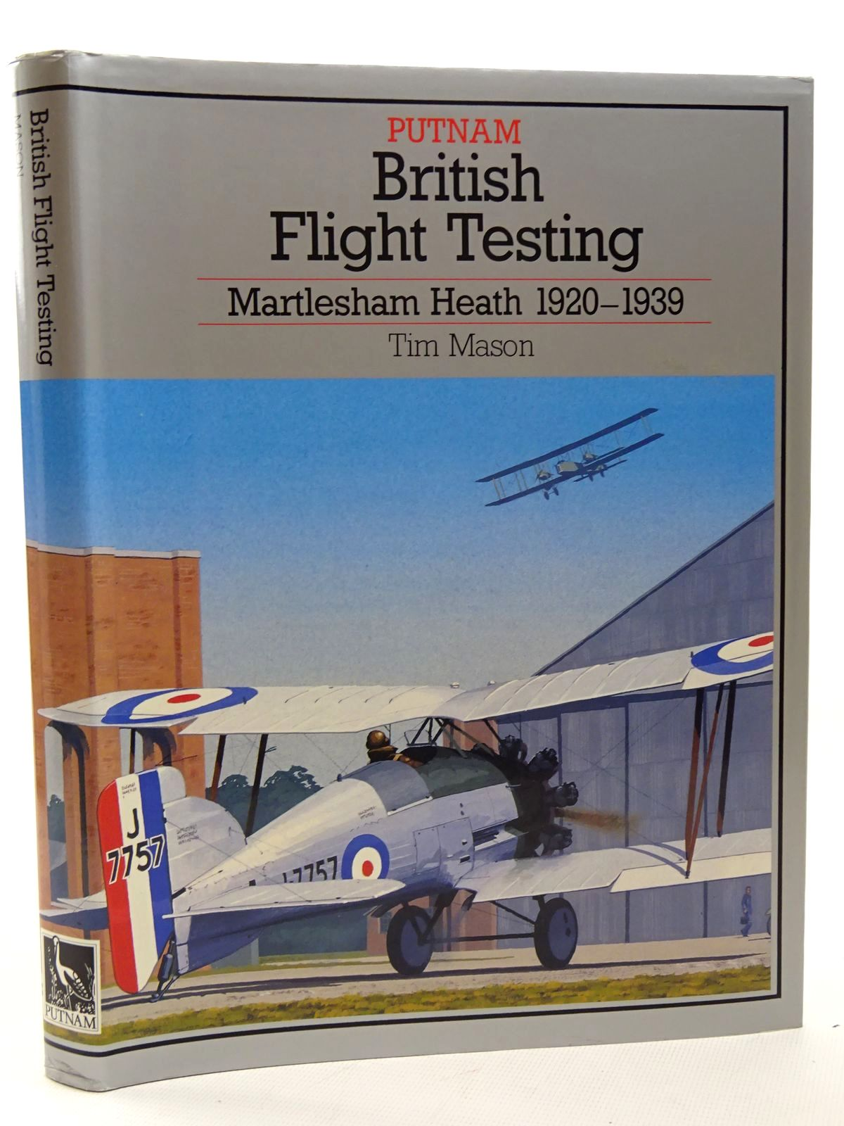 Photo of BRITISH FLIGHT TESTING: MARTLESHAM HEATH 1920-1939 written by Mason, T. Heffernan, T. published by Putnam (STOCK CODE: 2124599)  for sale by Stella & Rose's Books