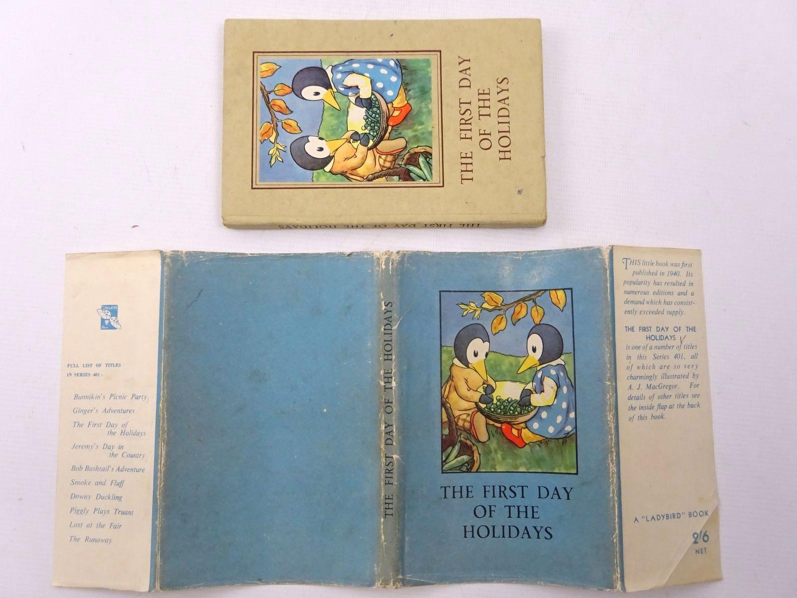 Photo of THE FIRST DAY OF THE HOLIDAYS written by Macgregor, A.J. Perring, W. illustrated by Macgregor, A.J. published by Wills & Hepworth Ltd. (STOCK CODE: 2124619)  for sale by Stella & Rose's Books