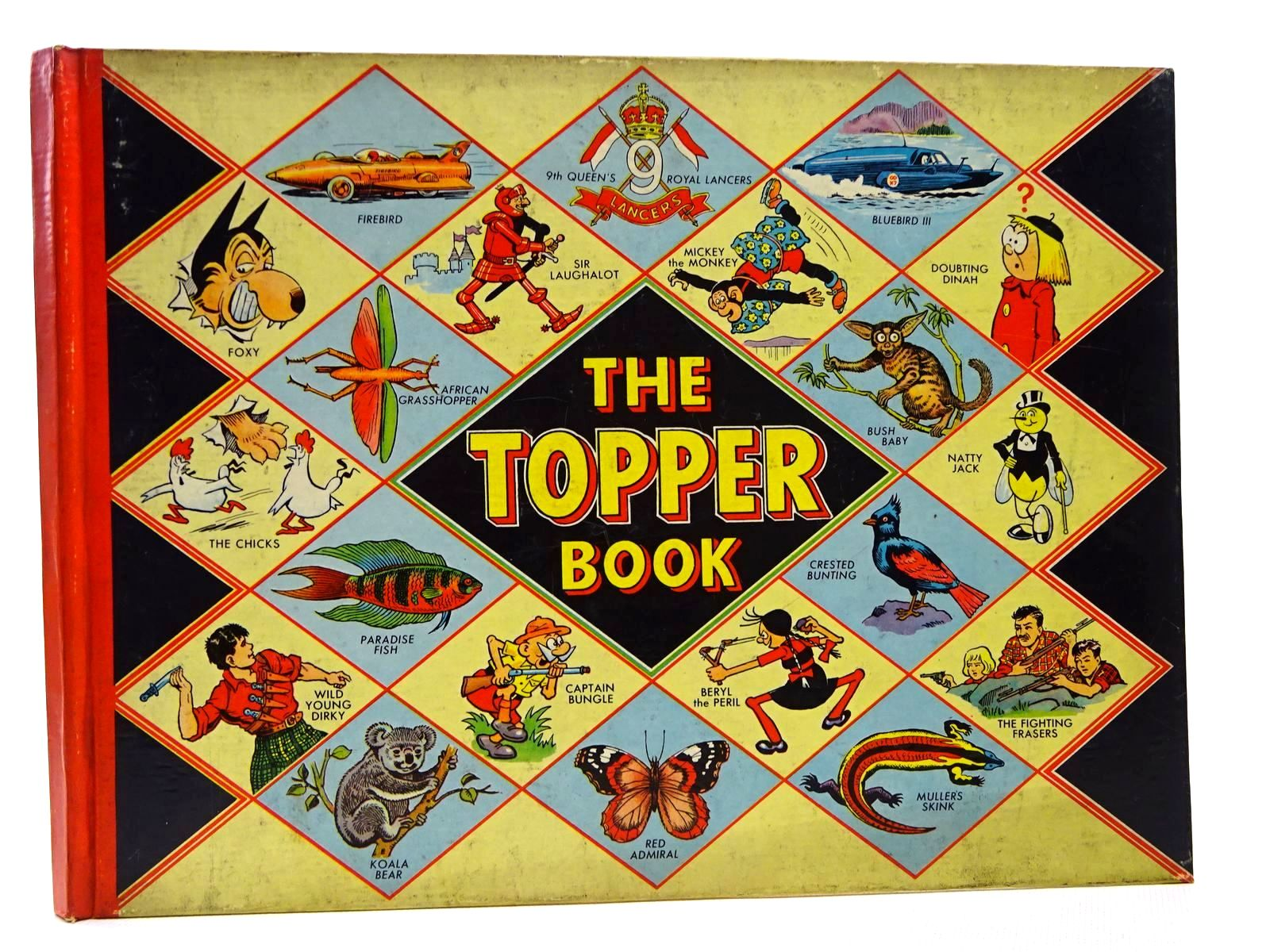 Photo of THE TOPPER BOOK 1958 published by D.C. Thomson & Co Ltd., John Leng (STOCK CODE: 2124636)  for sale by Stella & Rose's Books