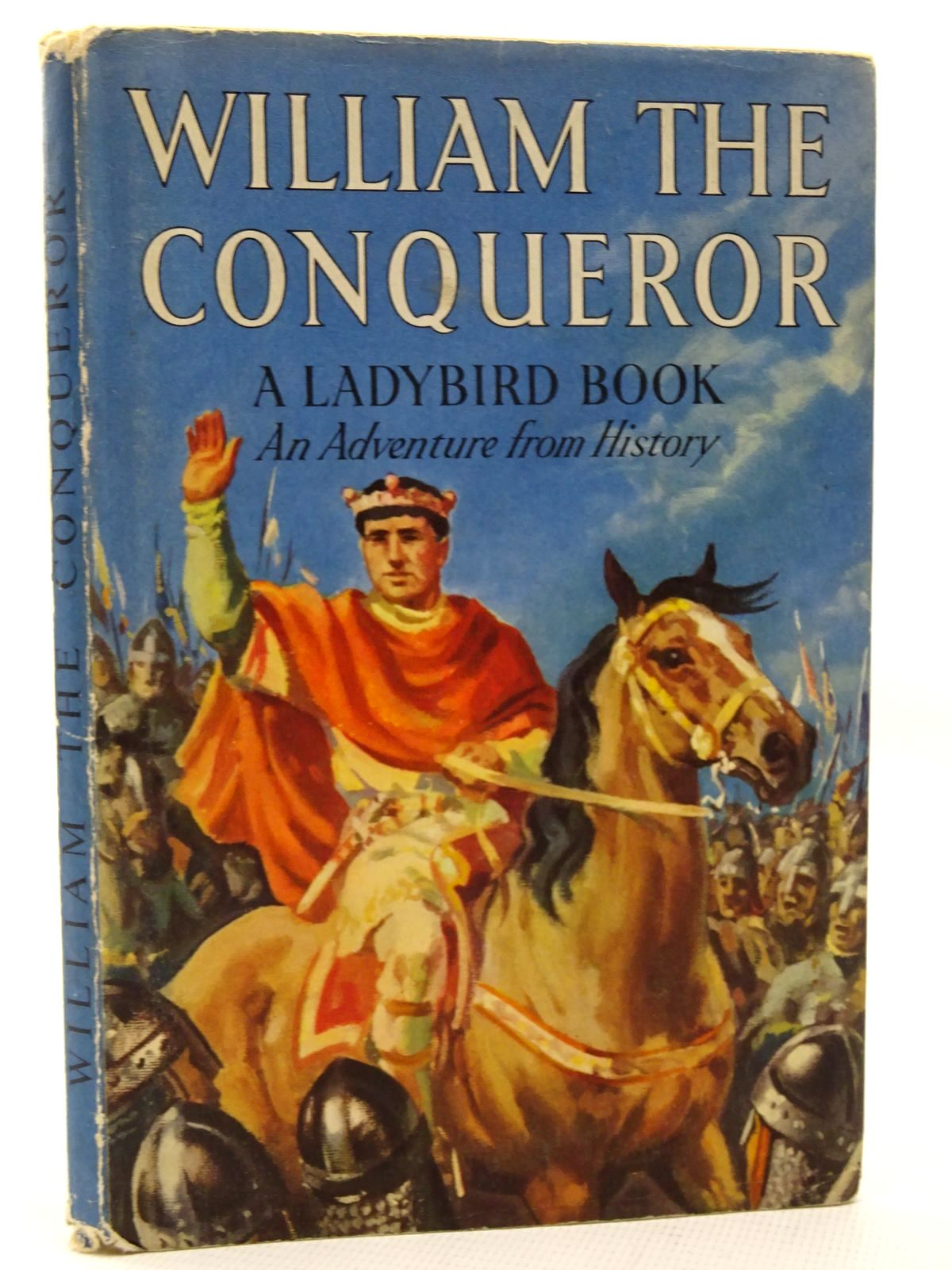 Photo of WILLIAM THE CONQUEROR written by Peach, L. Du Garde illustrated by Kenney, John published by Wills & Hepworth Ltd. (STOCK CODE: 2124650)  for sale by Stella & Rose's Books