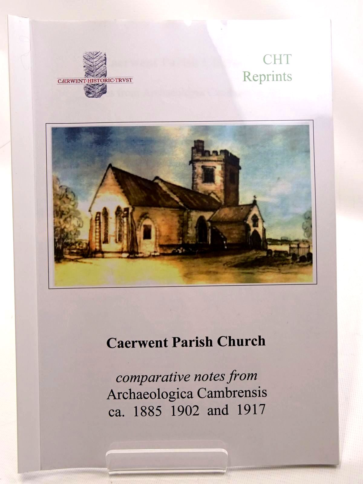 Photo of CAERWENT PARISH CHURCH PAGES FROM ARCHAEOLOGIA CAMBRENSIS published by Caerwent Historic Trust (STOCK CODE: 2124686)  for sale by Stella & Rose's Books