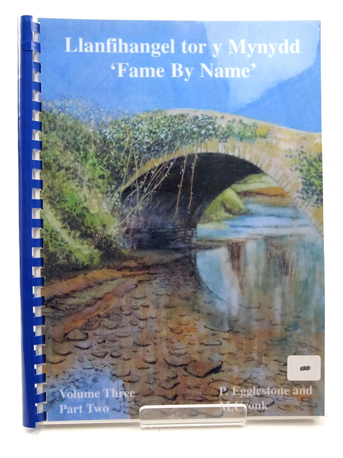 Photo of LLANFIHANGEL TOR Y MYNYDD - VOLUME THREE PART TWO  - FAME BY NAME written by Eggleston, Pat Cronk, Mark published by The Village News (STOCK CODE: 2124697)  for sale by Stella & Rose's Books