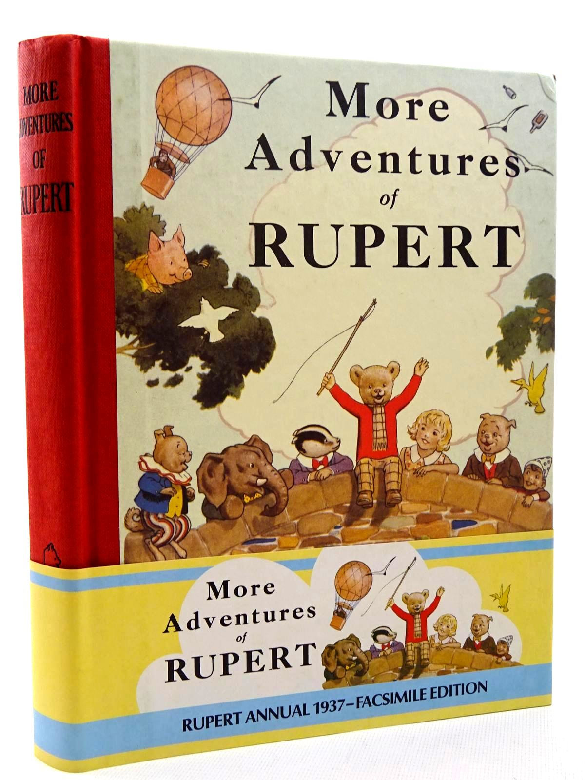 Photo of RUPERT ANNUAL 1937 (FACSIMILE) - MORE ADVENTURES OF RUPERT written by Bestall, Alfred illustrated by Bestall, Alfred published by Express Newspapers Ltd. (STOCK CODE: 2124731)  for sale by Stella & Rose's Books