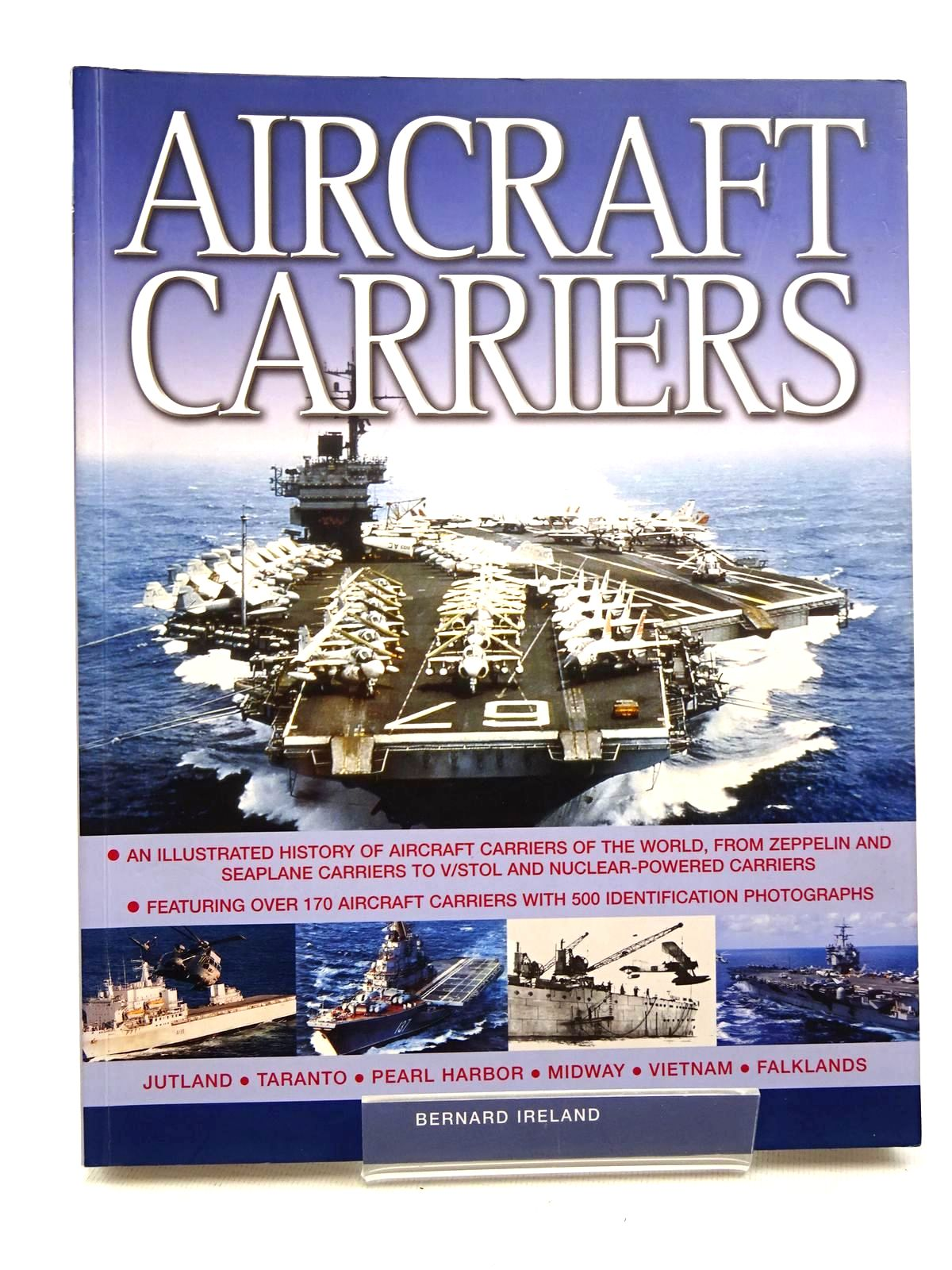 Photo of AIRCRAFT CARRIERS written by Ireland, Bernard published by Hermes House (STOCK CODE: 2124793)  for sale by Stella & Rose's Books