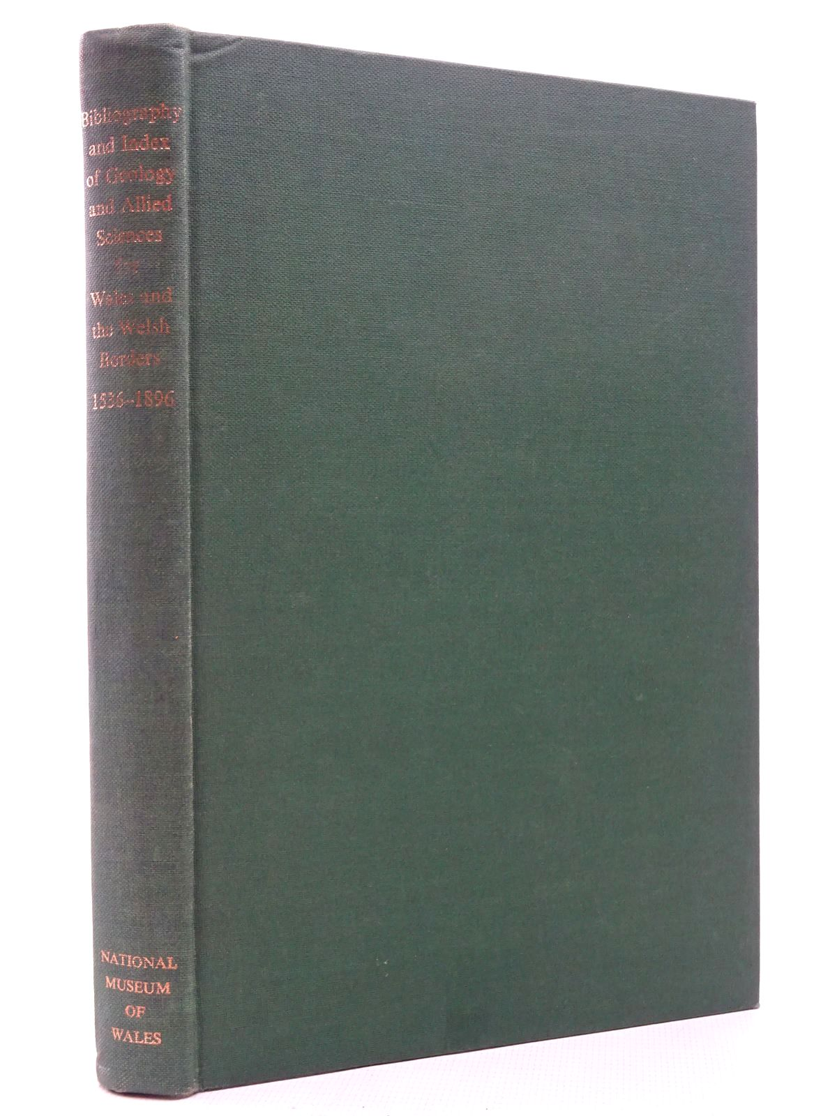 Photo of BIBLIOGRAPHY AND INDEX OF GEOLOGY AND ALLIED SCIENCES FOR WALES AND THE WELSH BORDERS 1536-1836 written by Bassett, Douglas A. published by National Museum of Wales (STOCK CODE: 2124803)  for sale by Stella & Rose's Books