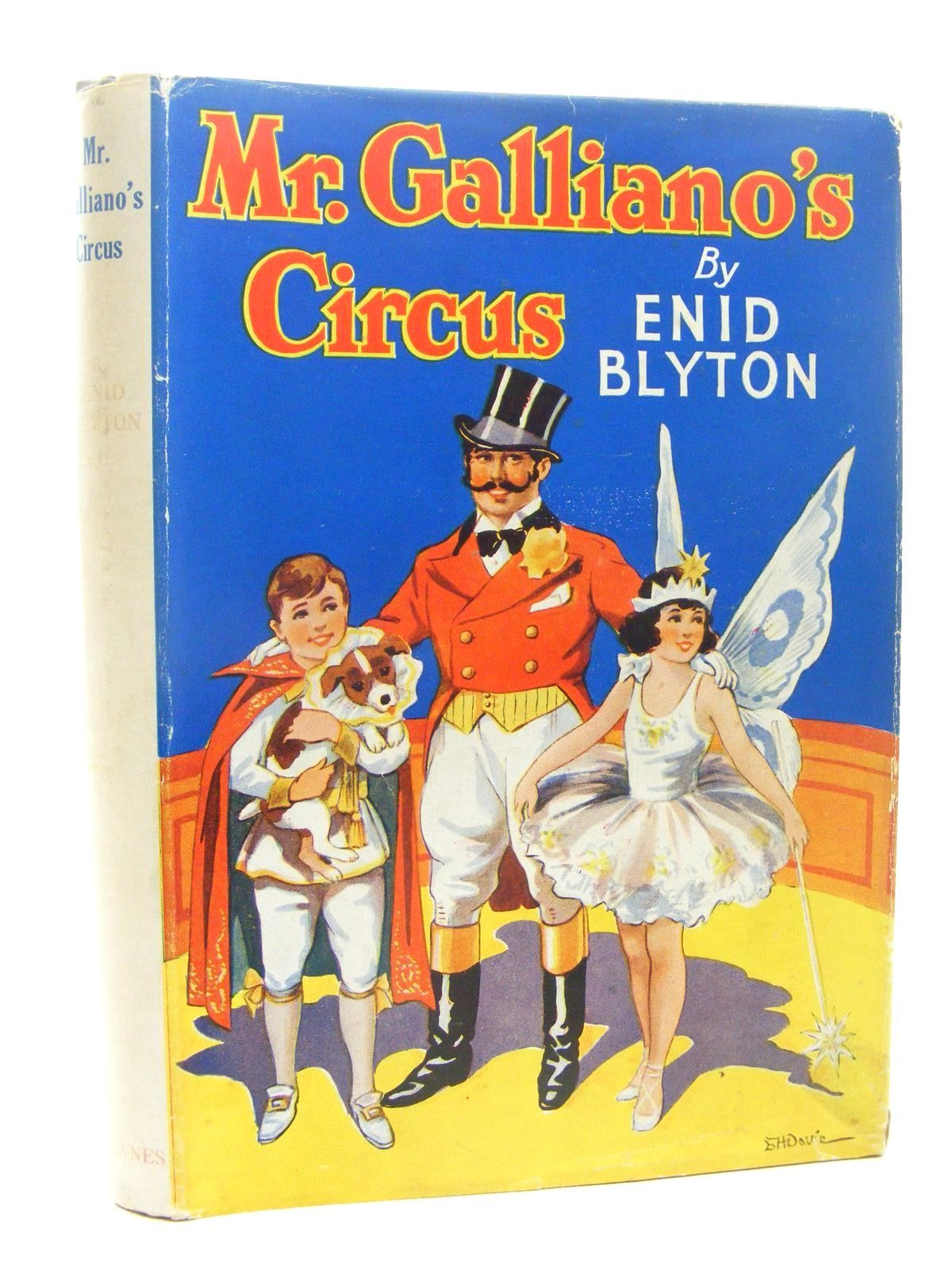 Photo of MR. GALLIANO'S CIRCUS written by Blyton, Enid illustrated by Davie, E.H. published by George Newnes Limited (STOCK CODE: 2124829)  for sale by Stella & Rose's Books