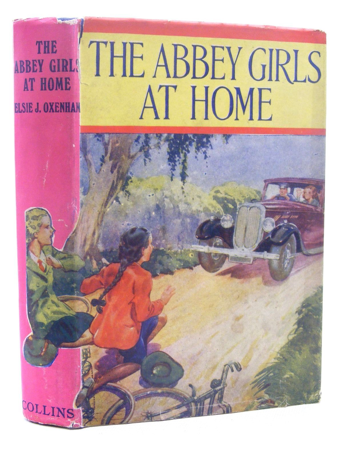Photo of THE ABBEY GIRLS AT HOME written by Oxenham, Elsie J. published by Collins (STOCK CODE: 2124868)  for sale by Stella & Rose's Books
