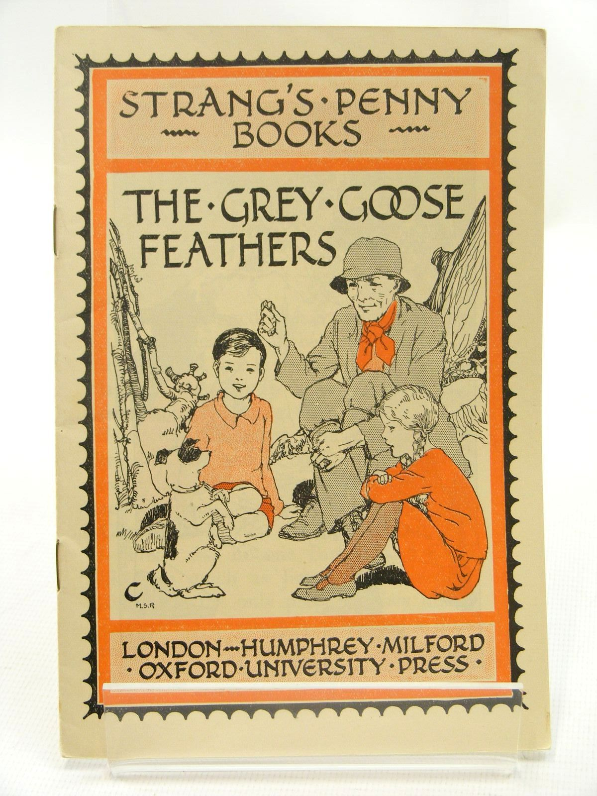 Photo of STRANG'S PENNY BOOKS THE GREY GOOSE FEATHERS written by Lane, Margaret Stuart illustrated by Reeve, Mary S. published by Humphrey Milford, Oxford University Press (STOCK CODE: 2124878)  for sale by Stella & Rose's Books