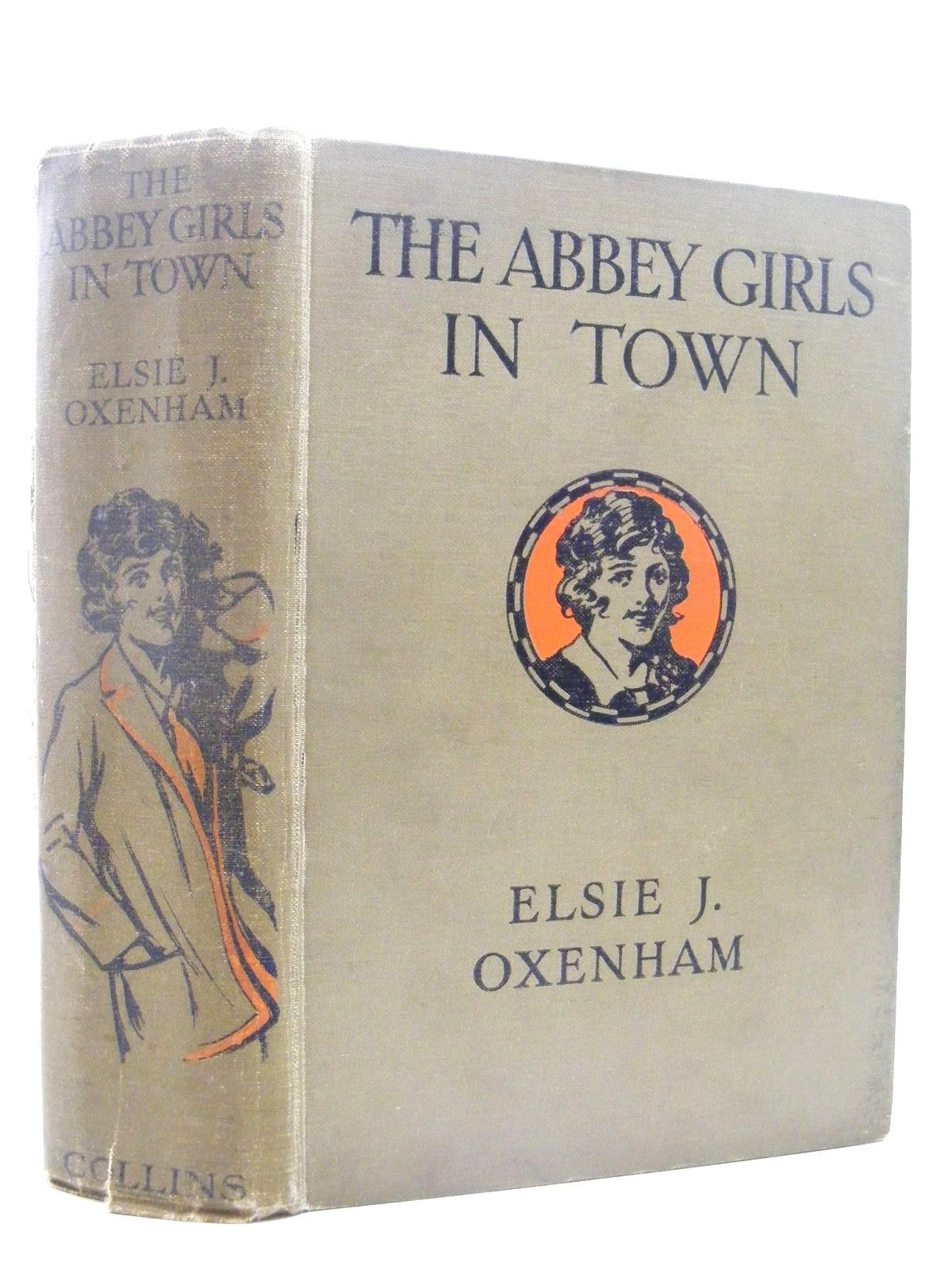 Photo of THE ABBEY GIRLS IN TOWN written by Oxenham, Elsie J. illustrated by Petherick, Rosa C. published by Collins Clear-Type Press (STOCK CODE: 2124918)  for sale by Stella & Rose's Books