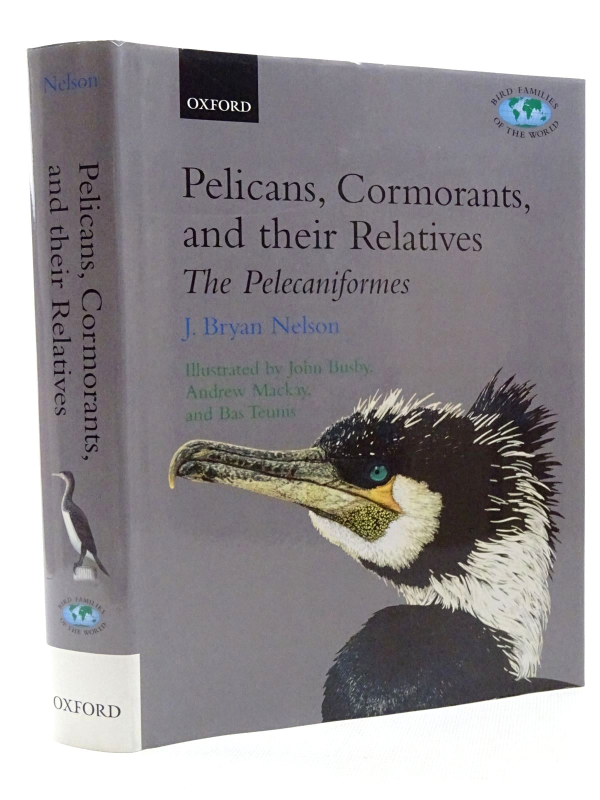 Photo of PELICANS, CORMORANTS AND THEIR RELATIVES (BIRD FAMILIES OF THE WORLD)- Stock Number: 2124937