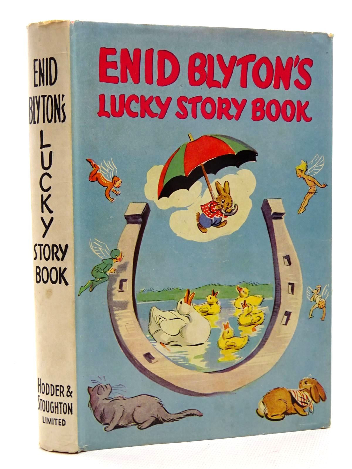 Photo of ENID BLYTON'S LUCKY STORY BOOK written by Blyton, Enid illustrated by Soper, Eileen published by Hodder & Stoughton (STOCK CODE: 2124942)  for sale by Stella & Rose's Books