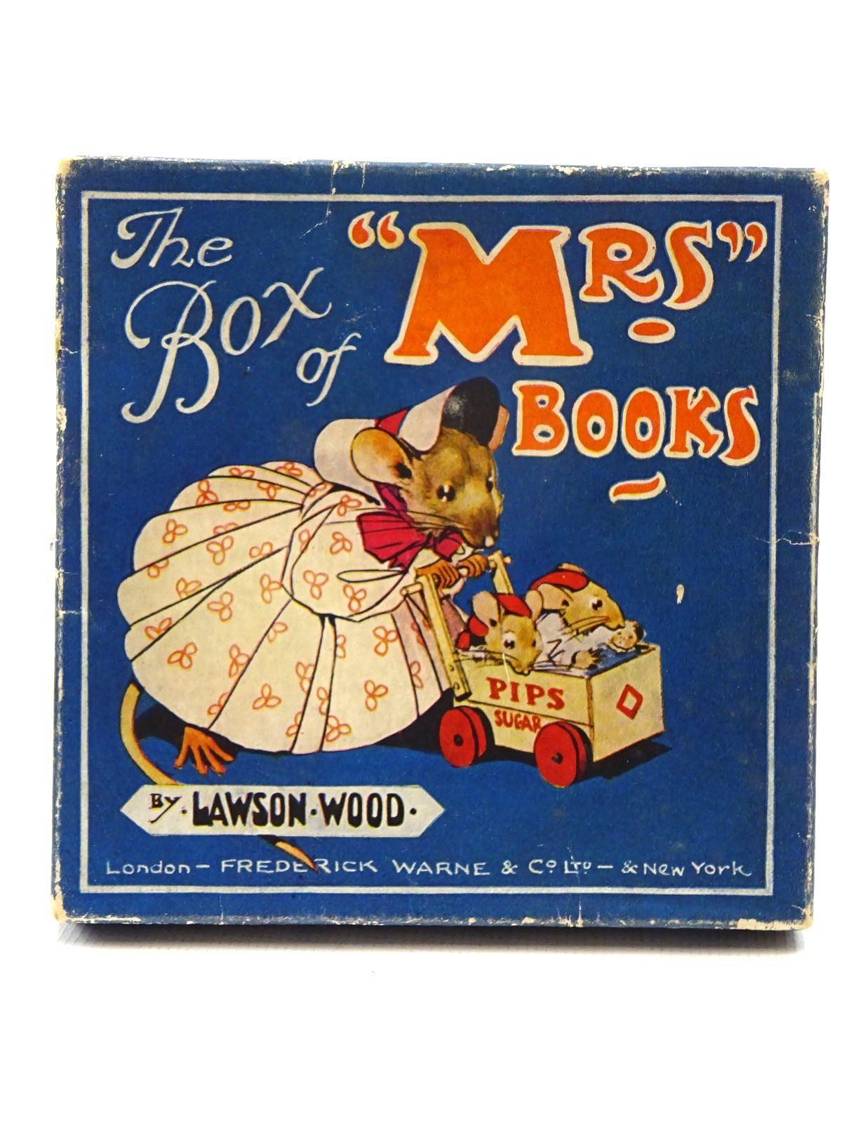 Photo of THE BOX OF 'MRS' BOOKS- Stock Number: 2124955