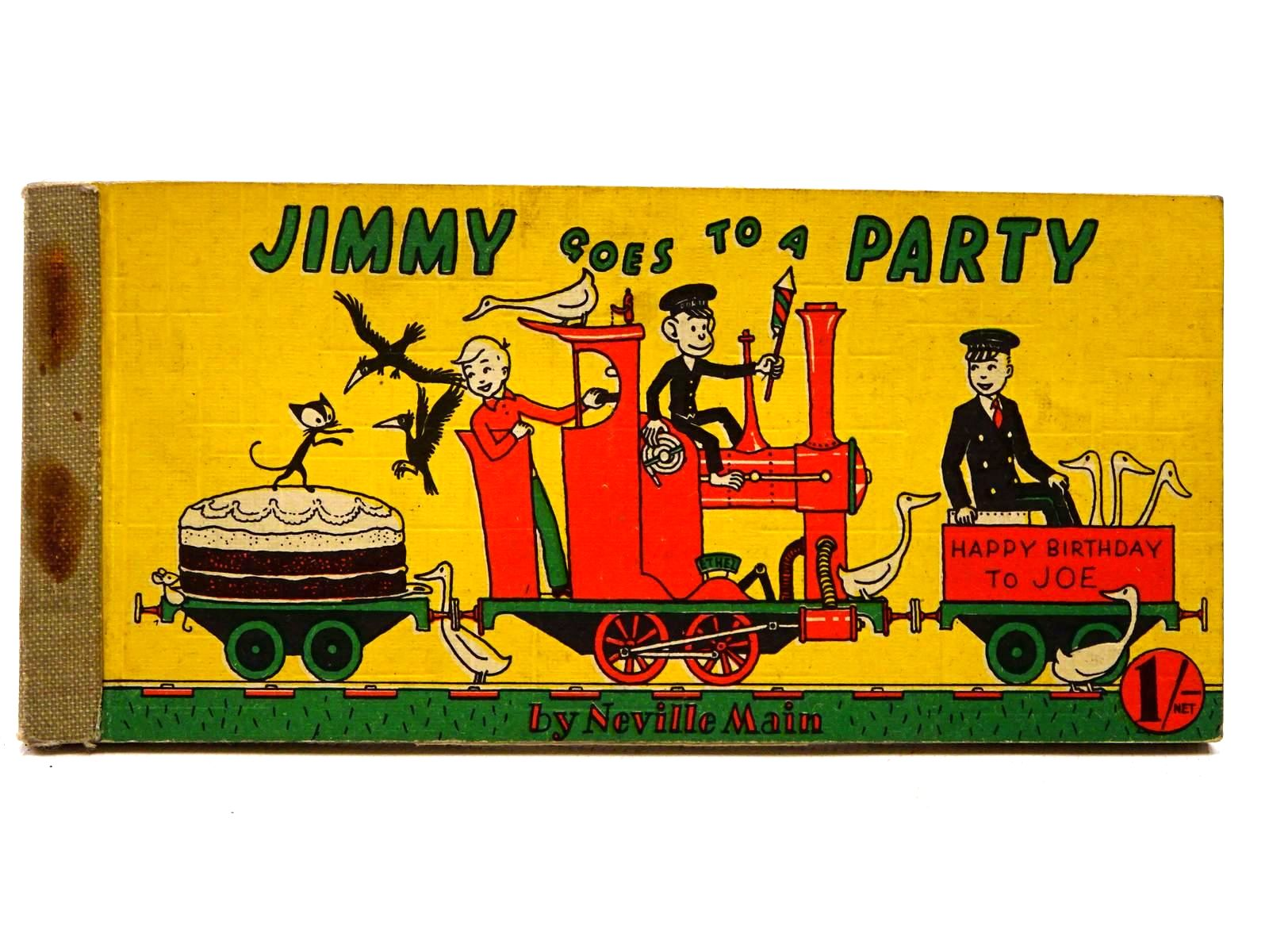 Photo of JIMMY GOES TO A PARTY written by Main, Neville published by Brockhampton Press (STOCK CODE: 2124972)  for sale by Stella & Rose's Books