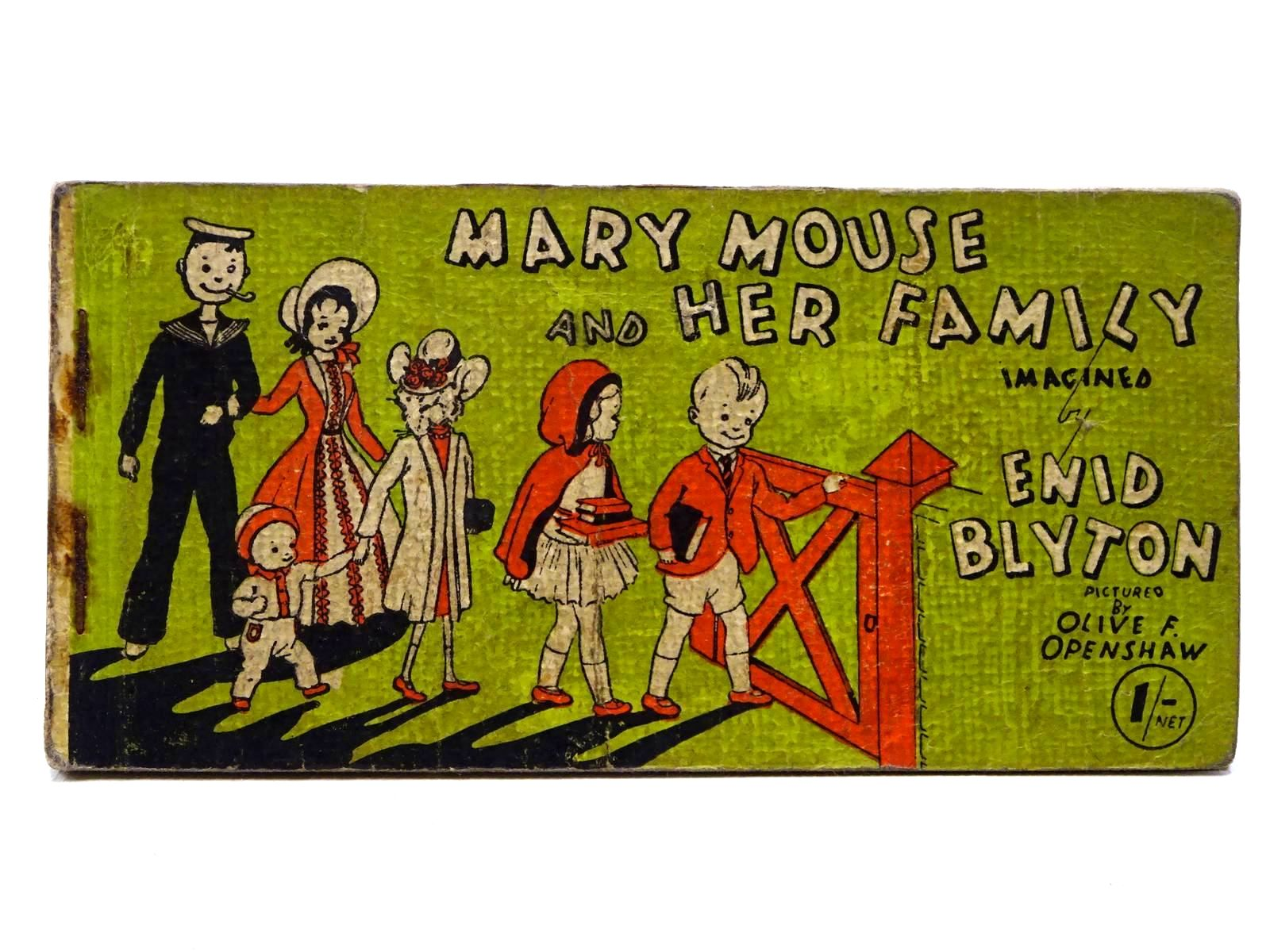 Photo of MARY MOUSE AND HER FAMILY written by Blyton, Enid illustrated by Openshaw, Olive F. published by Brockhampton Press (STOCK CODE: 2124978)  for sale by Stella & Rose's Books