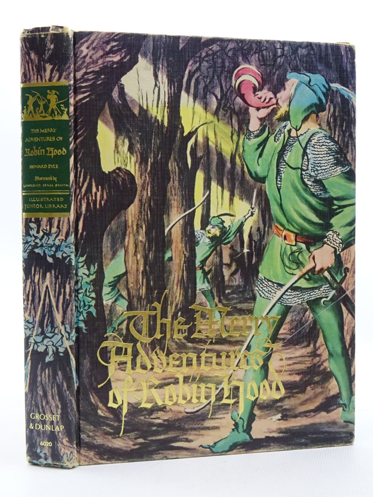 Photo of THE MERRY ADVENTURES OF ROBIN HOOD written by Pyle, Howard illustrated by Smith, Lawrence Beall published by Grosset & Dunlap (STOCK CODE: 2124989)  for sale by Stella & Rose's Books