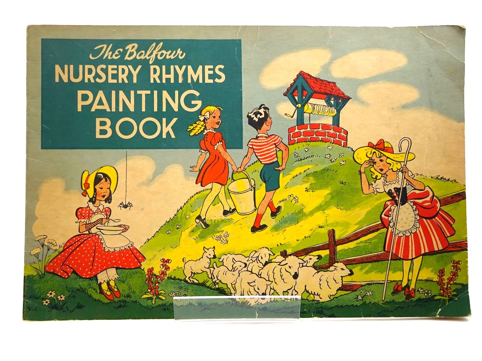 Photo of THE BALFOUR NURSERY RHYMES PAINTING BOOK published by Balfour Publications (STOCK CODE: 2124999)  for sale by Stella & Rose's Books