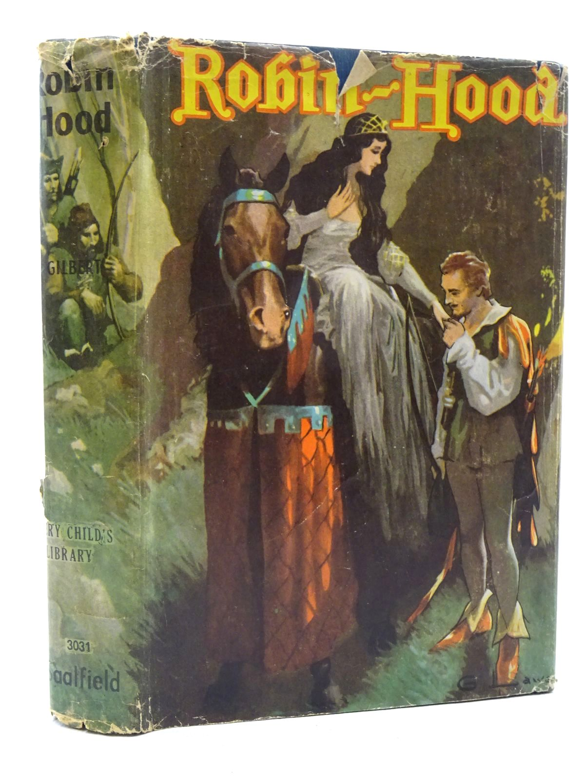 Photo of ROBIN HOOD written by Gilbert, Henry illustrated by Brundage, Frances published by The Saalfield Publishing Company (STOCK CODE: 2125073)  for sale by Stella & Rose's Books