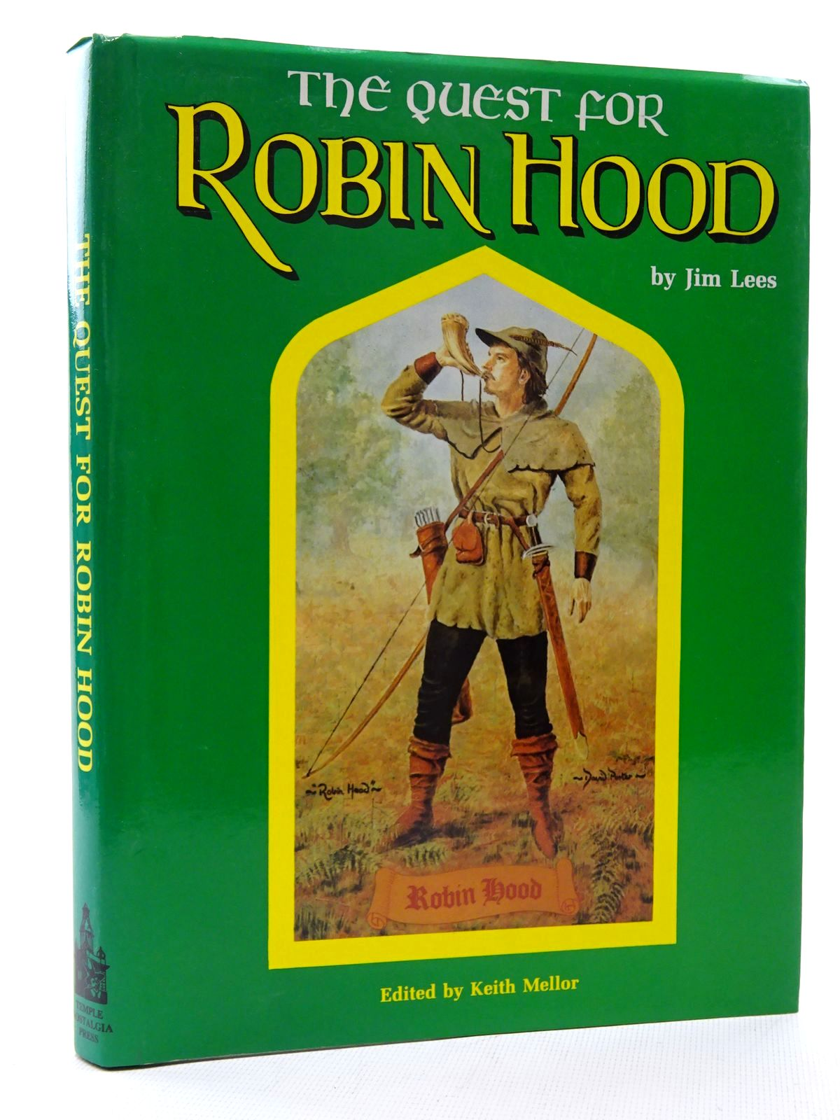 Photo of THE QUEST FOR ROBIN HOOD written by Lees, Jim Mellor, Keith published by Temple Nostalgia (STOCK CODE: 2125077)  for sale by Stella & Rose's Books