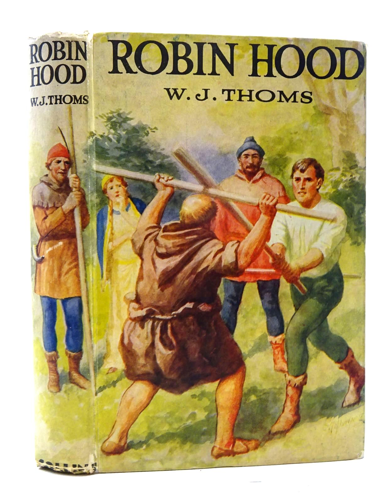Photo of ROBIN HOOD AND OTHER STORIES written by Thoms, W.J. published by Collins Clear-Type Press (STOCK CODE: 2125079)  for sale by Stella & Rose's Books