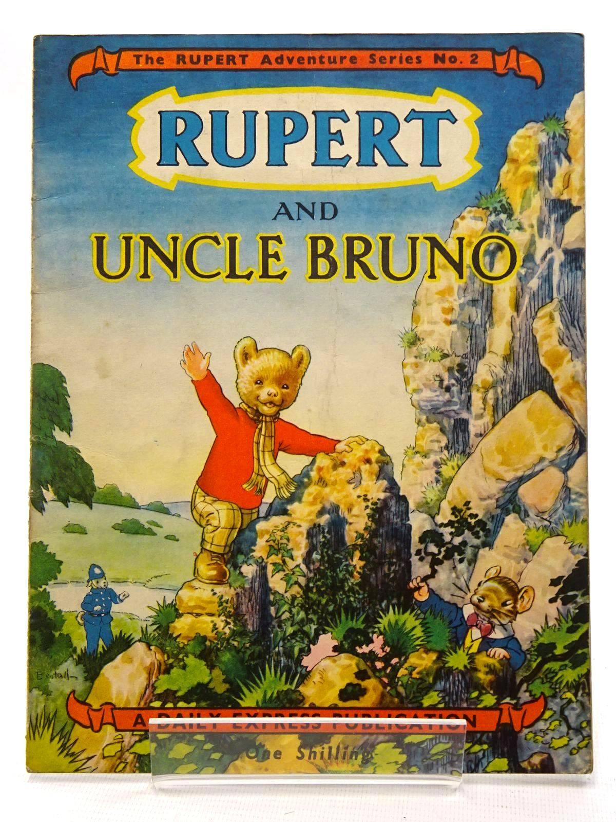 Photo of RUPERT ADVENTURE SERIES No. 2 - RUPERT AND UNCLE BRUNO written by Bestall, Alfred illustrated by Bestall, Alfred published by Daily Express (STOCK CODE: 2125104)  for sale by Stella & Rose's Books