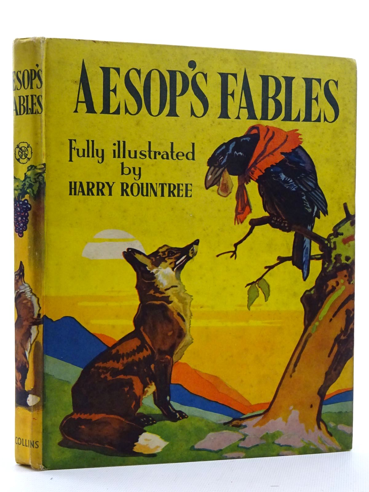 Photo of AESOP'S FABLES written by Aesop,  illustrated by Rountree, Harry published by Collins Clear-Type Press (STOCK CODE: 2125109)  for sale by Stella & Rose's Books