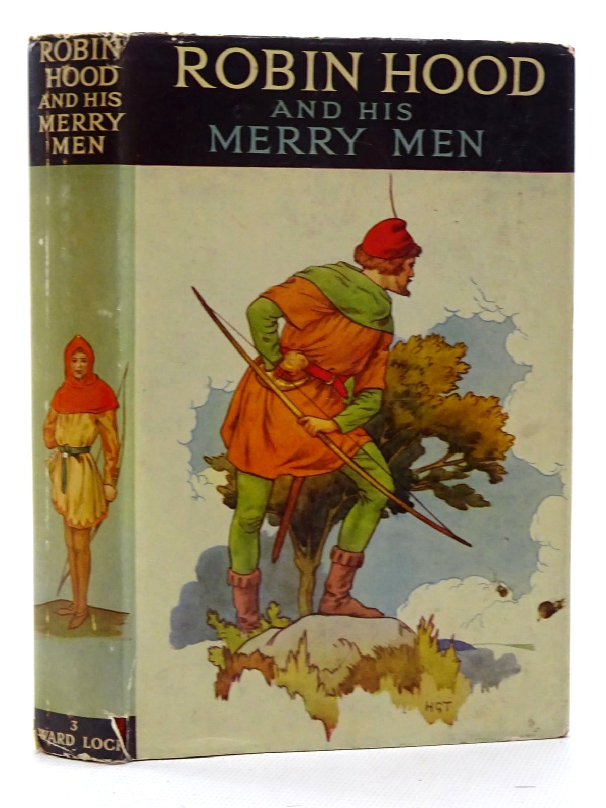 Photo of ROBIN HOOD AND HIS MERRY MEN written by Vivian, E. Charles published by Ward, Lock & Co. Ltd. (STOCK CODE: 2125112)  for sale by Stella & Rose's Books