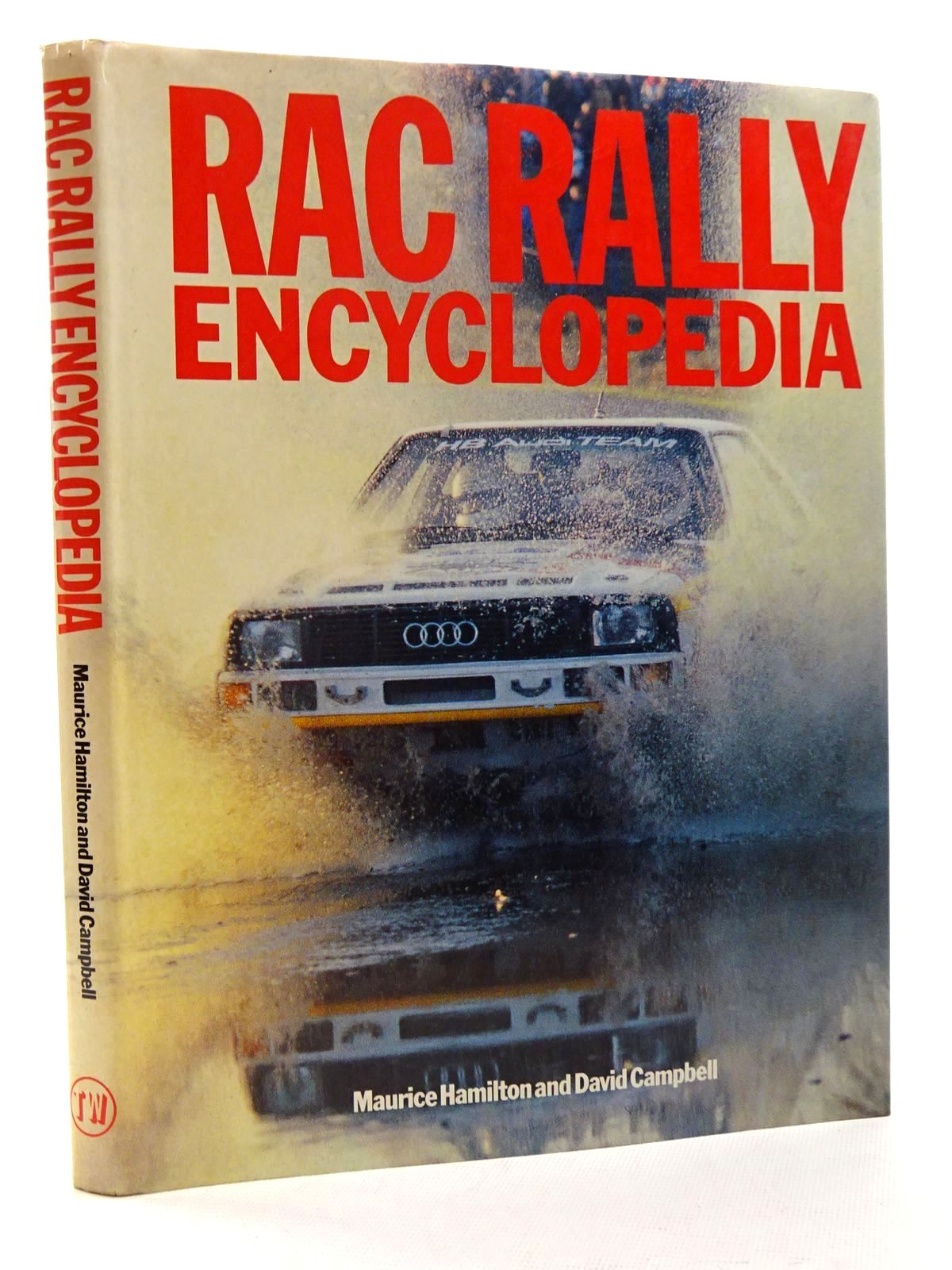 Photo of RAC RALLY ENCYCLOPEDIA written by Hamilton, Maurice