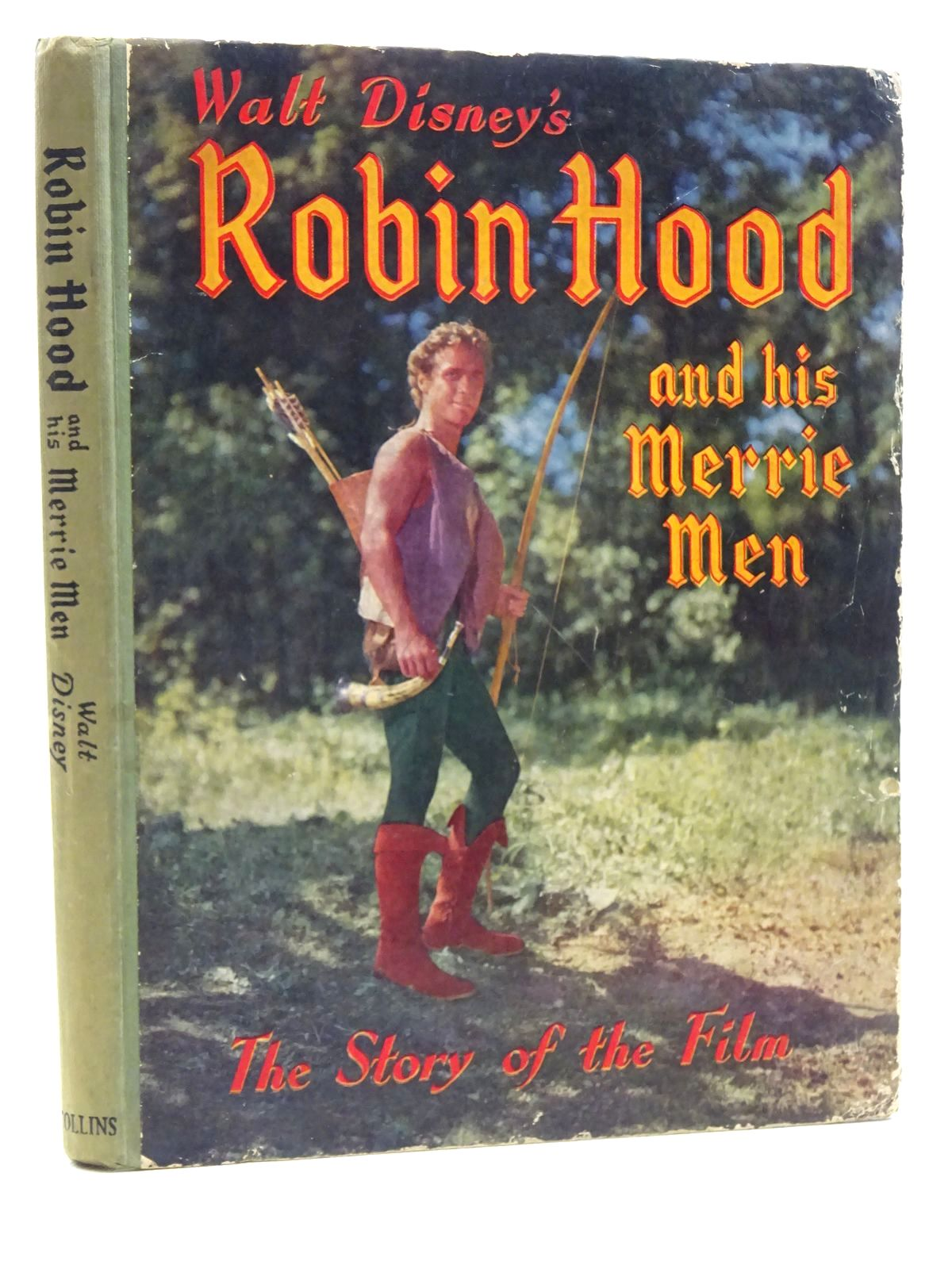 Photo of WALT DISNEY'S ROBIN HOOD AND HIS MERRIE MEN written by Disney, Walt illustrated by Disney, Walt published by Collins (STOCK CODE: 2125153)  for sale by Stella & Rose's Books
