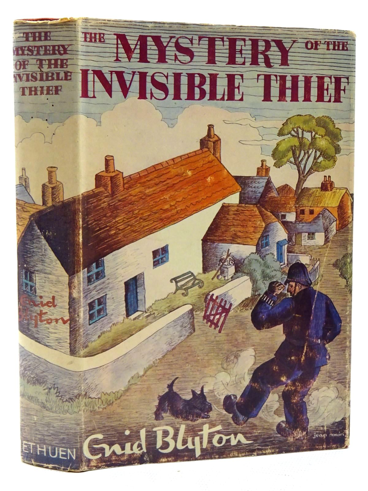 Photo of THE MYSTERY OF THE INVISIBLE THIEF written by Blyton, Enid illustrated by Evans, Treyer published by Methuen & Co. Ltd. (STOCK CODE: 2125183)  for sale by Stella & Rose's Books