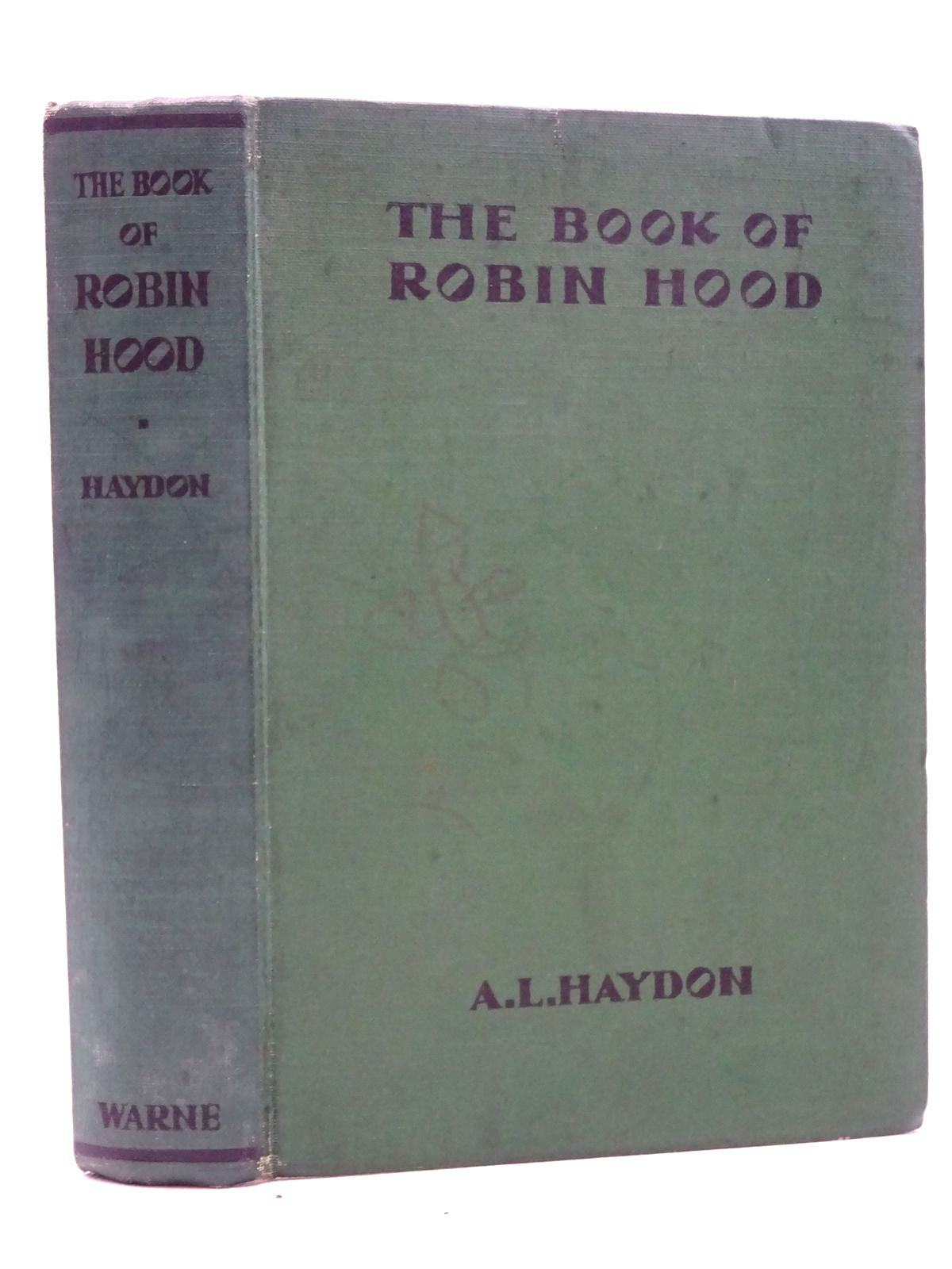 Photo of THE BOOK OF ROBIN HOOD- Stock Number: 2125194