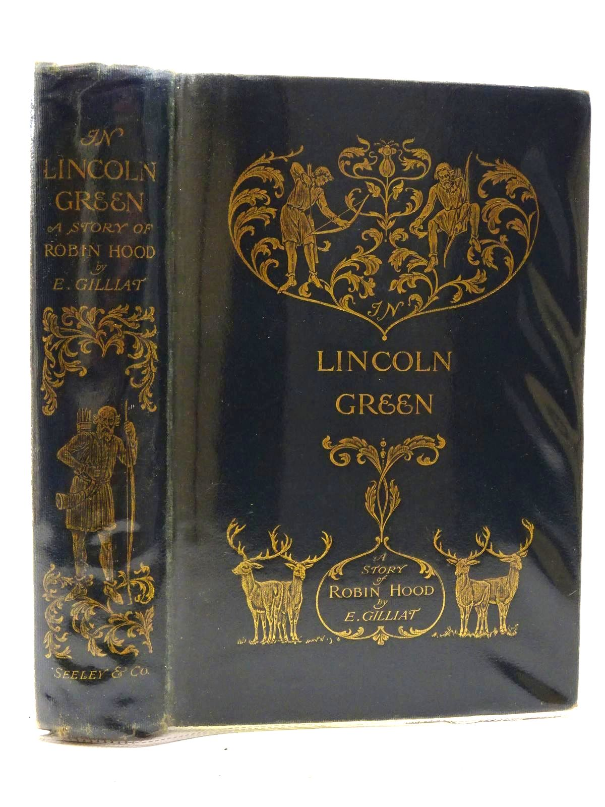 Photo of IN LINCOLN GREEN: A MERRIE TALE OF ROBIN HOOD- Stock Number: 2125195