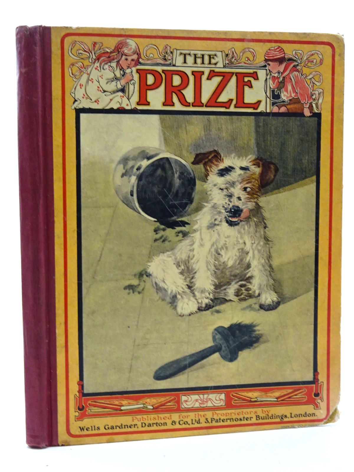 Photo of THE PRIZE FOR GIRLS AND BOYS 1919- Stock Number: 2125233