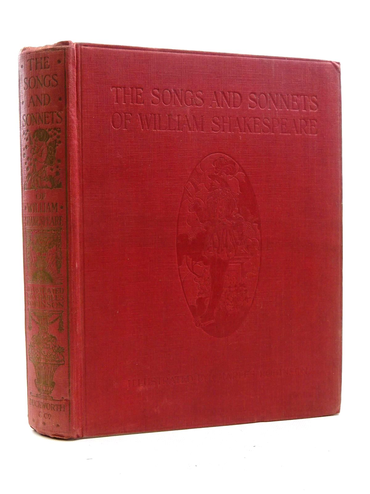 Photo of THE SONGS AND SONNETS OF WILLIAM SHAKESPEARE- Stock Number: 2125309