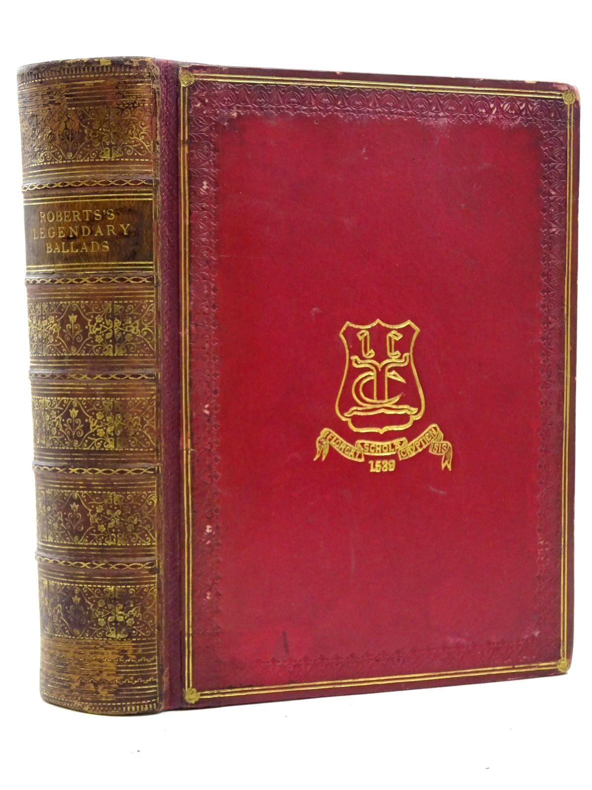 Photo of THE LEGENDARY BALLADS OF ENGLAND AND SCOTLAND- Stock Number: 2125368